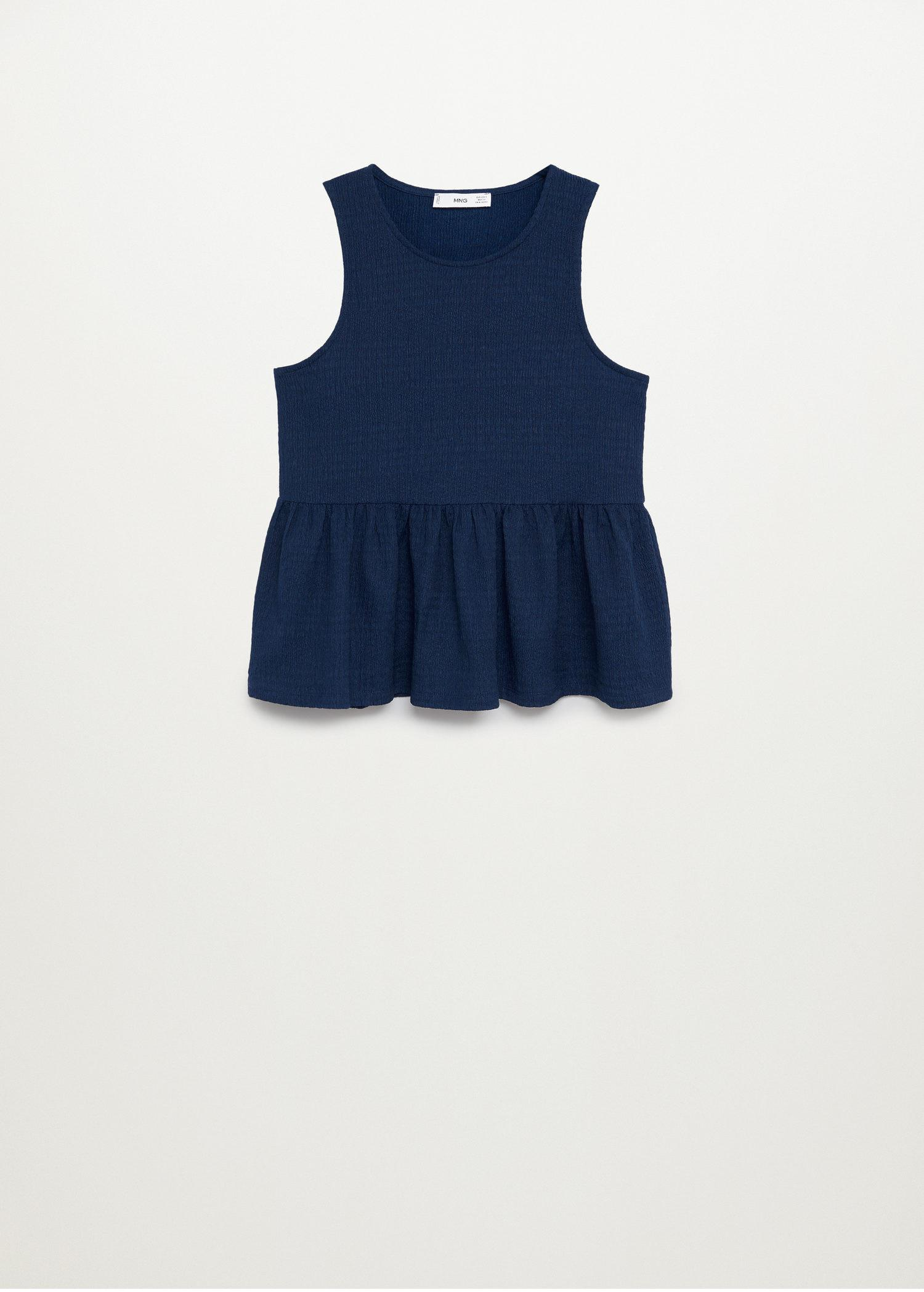 Top with ruffle texture 6