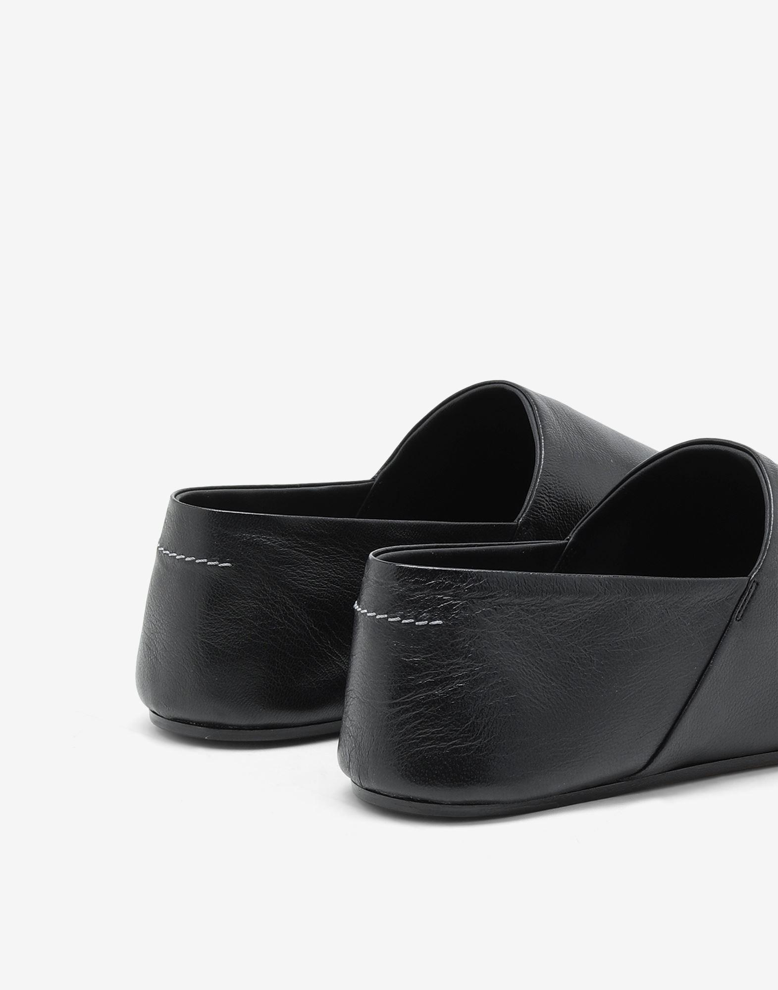 Leather mules 3