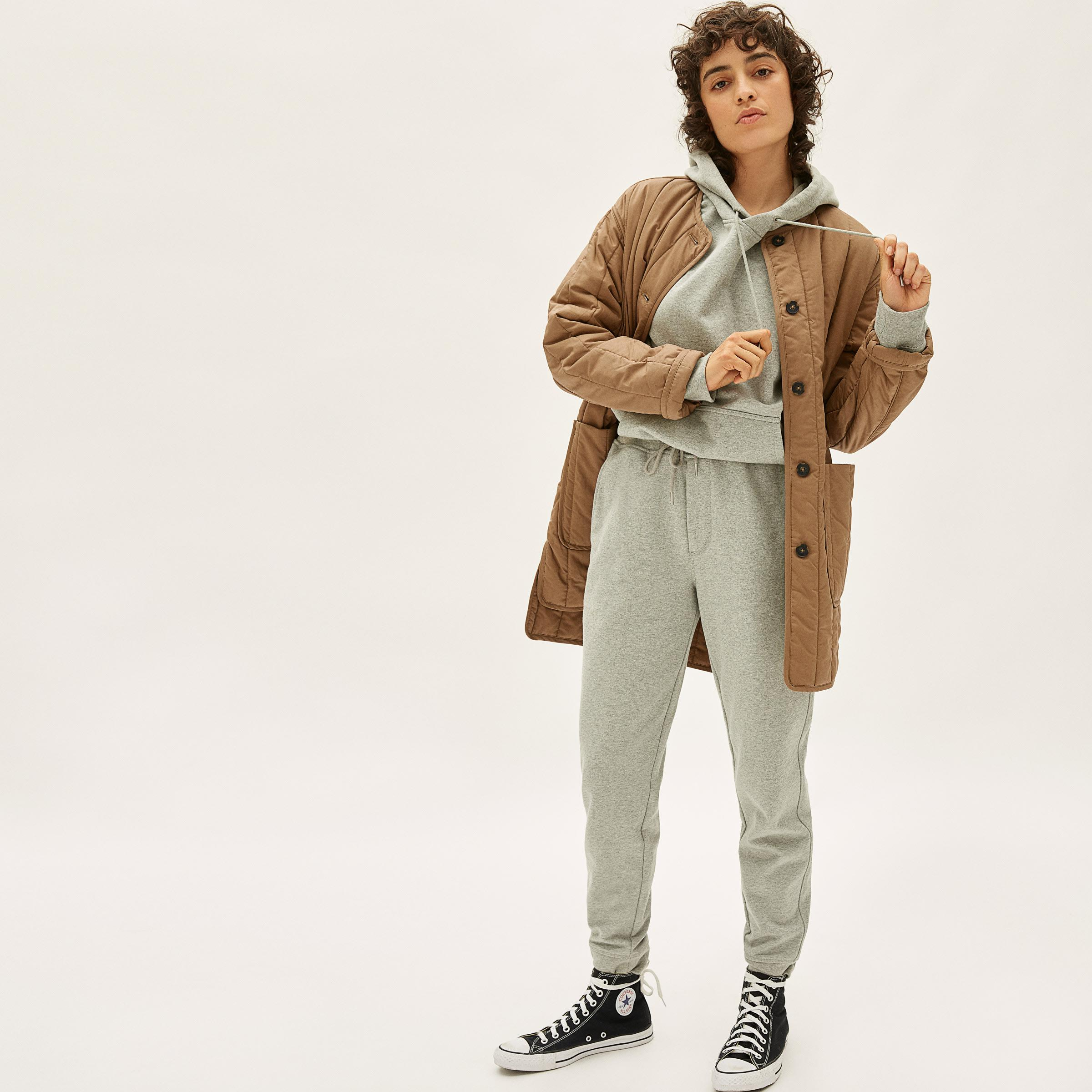 The Cotton Quilted Jacket  1
