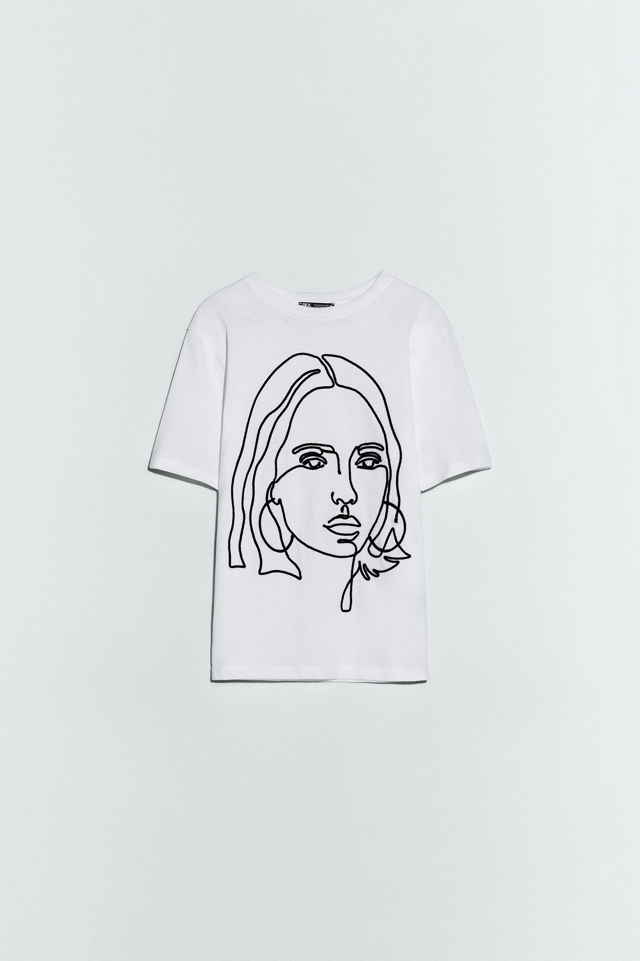 RAISED EMBROIDERY T-SHIRT 0