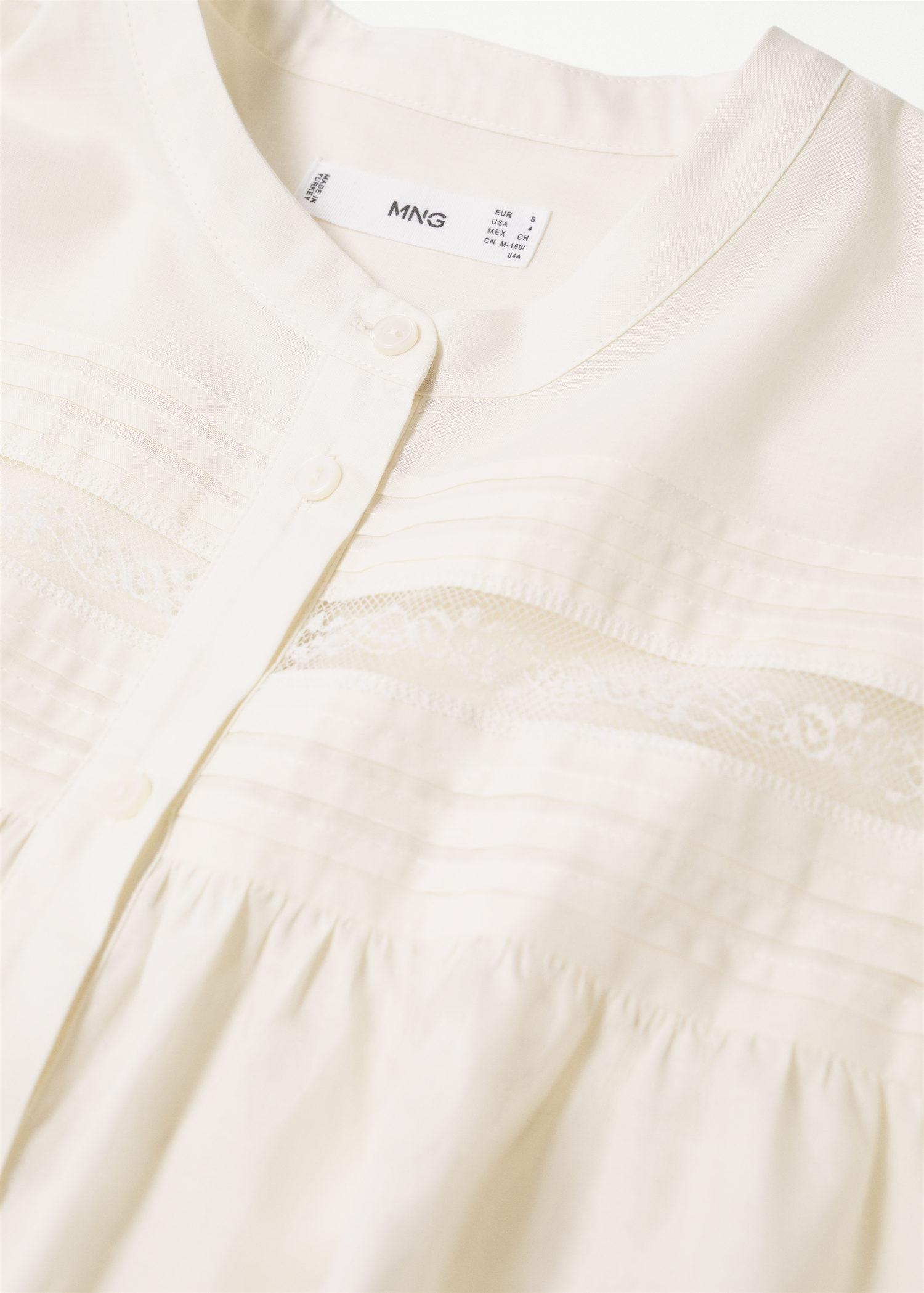 Pleated details blouse 5