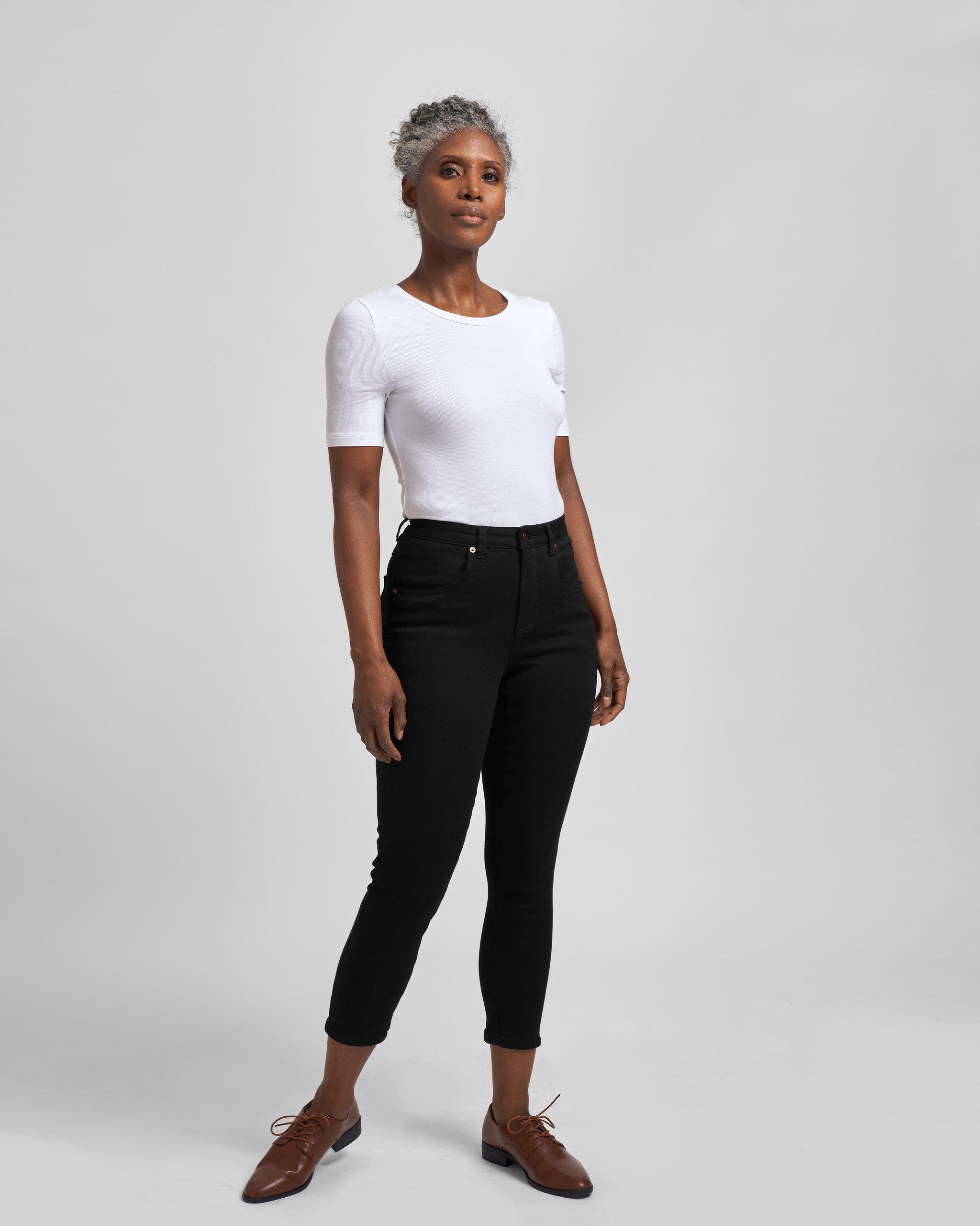 Seine Mid Rise Skinny Jeans 27 Inch 5