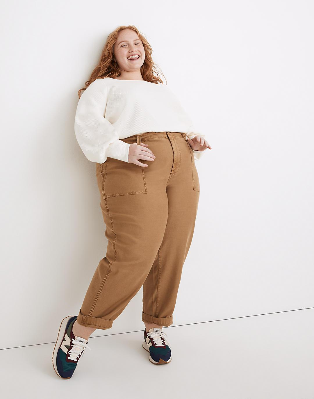Plus Curvy Griff Tapered Fatigue Pants