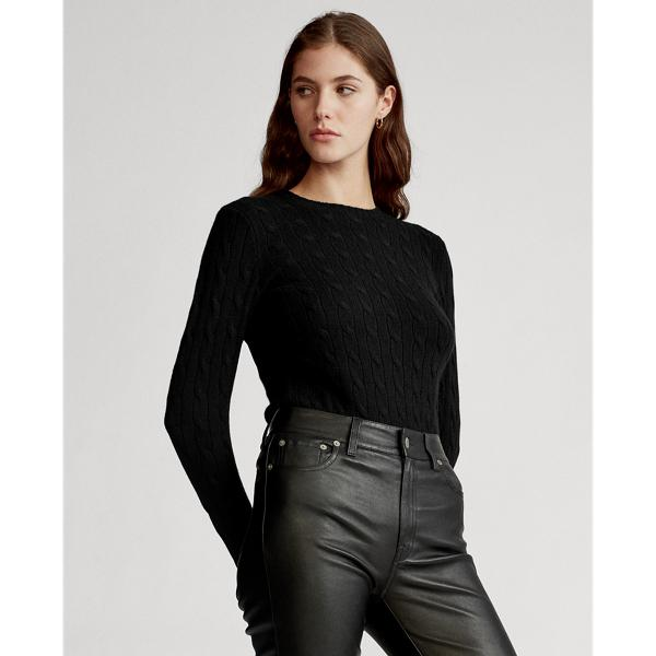 Cable-Knit Cashmere Sweater 2