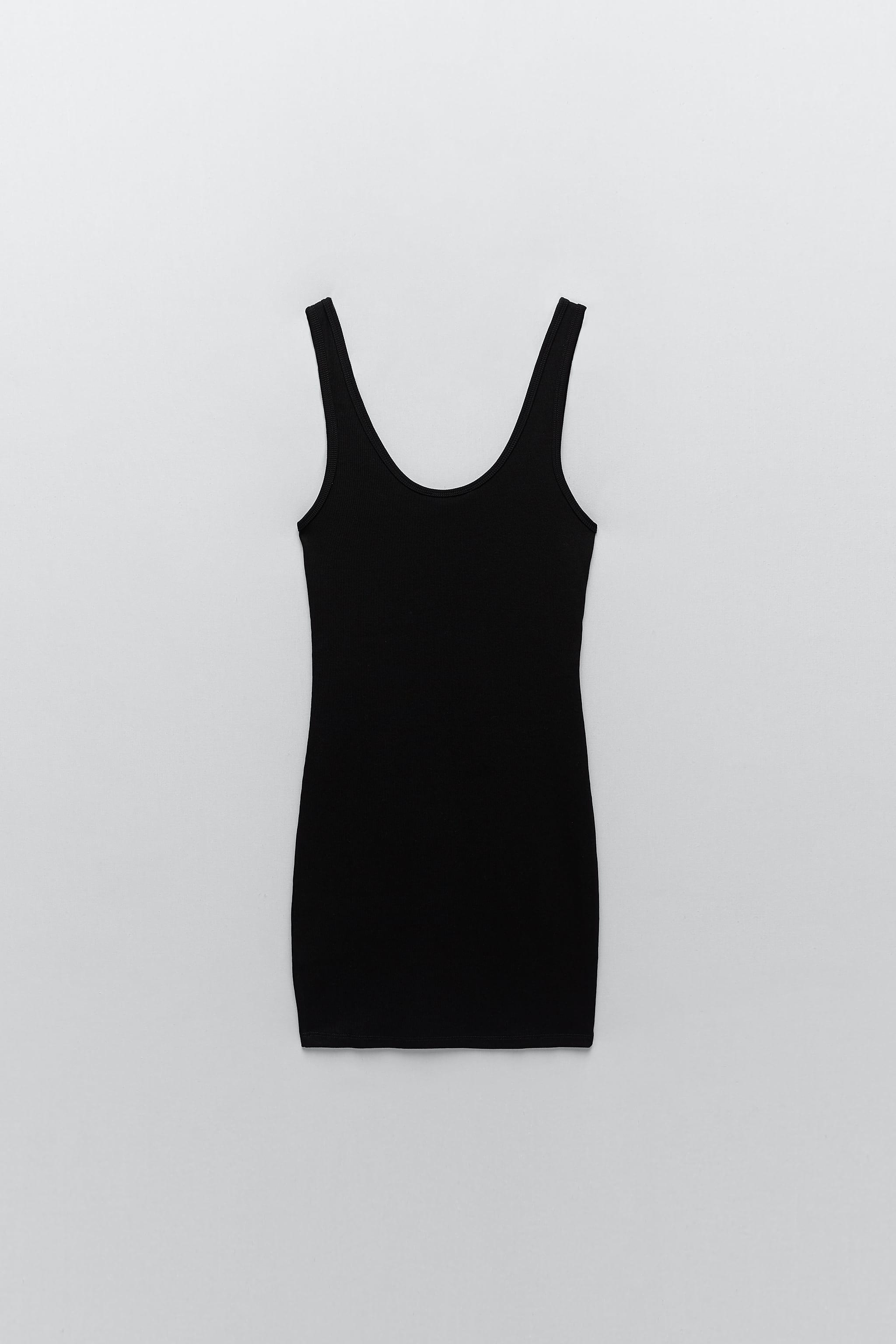 RIBBED DRESS WITH BUTTONS 6