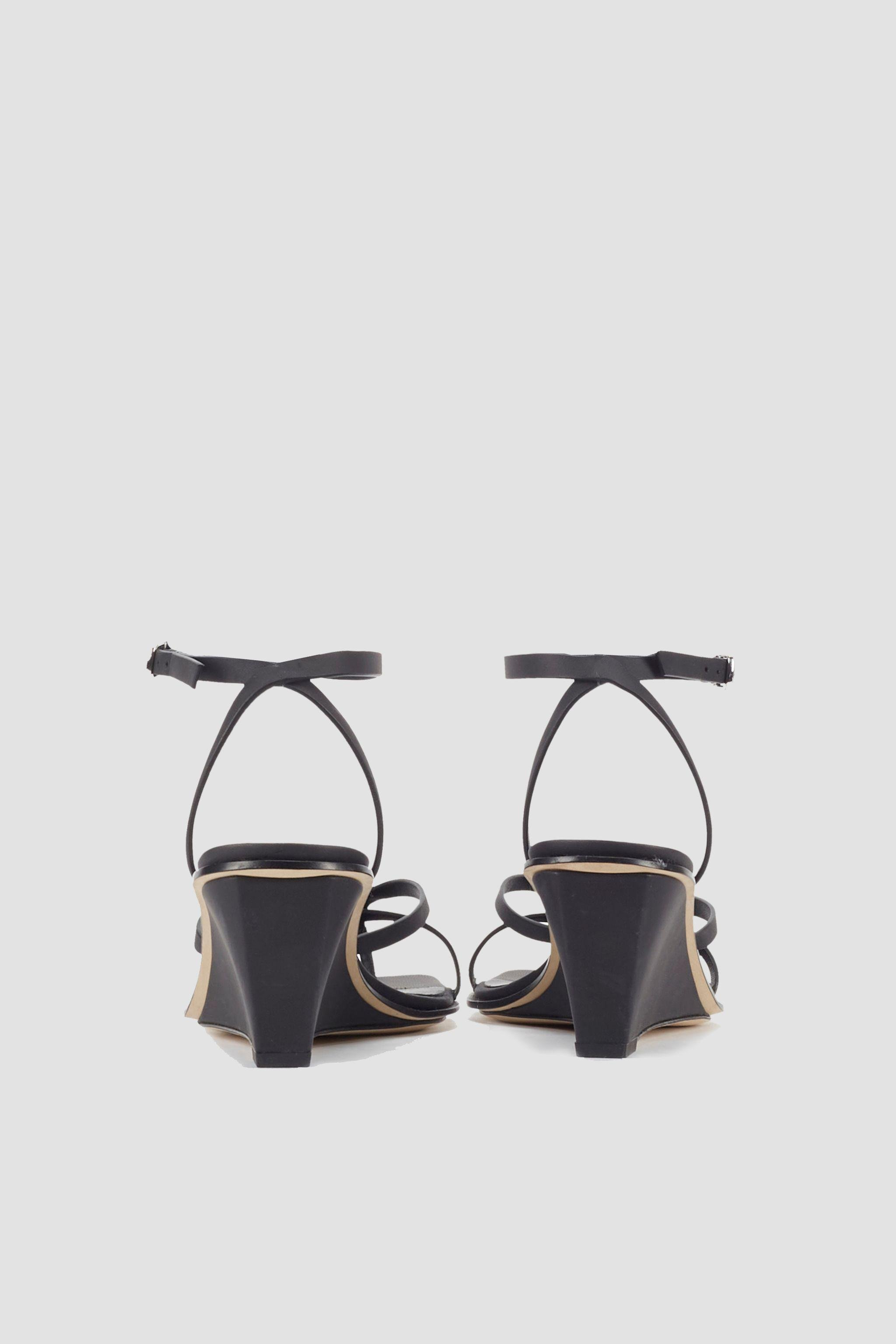 Laura Ankle Wrap Wedge Sandal 2