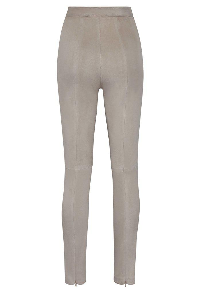 HIGH WAISTED SUEDE PANT 2