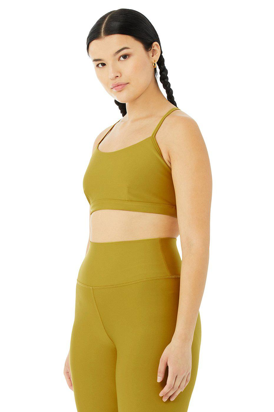Airlift Intrigue Bra - Chartreuse 9