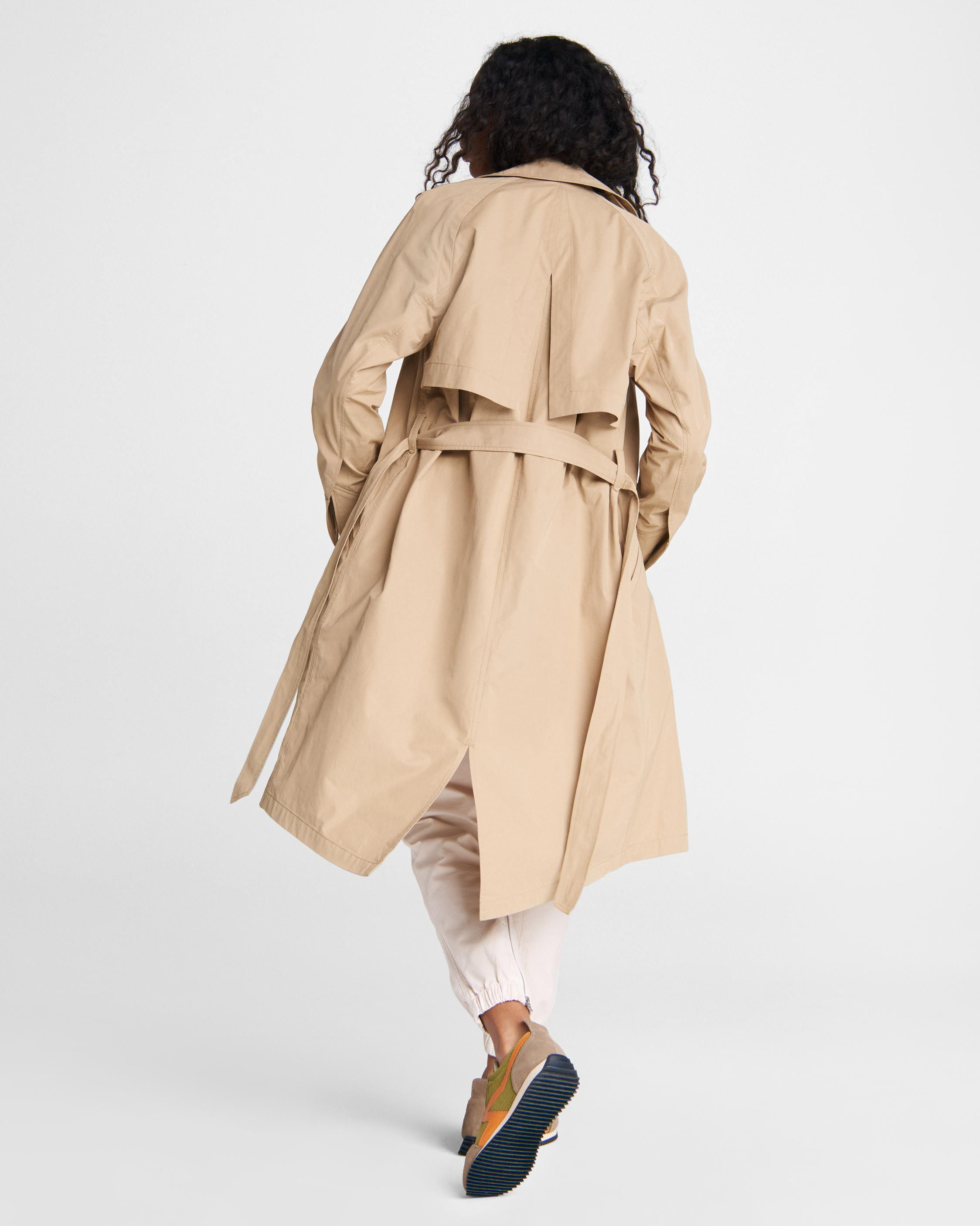 Classic cotton blend trench 3