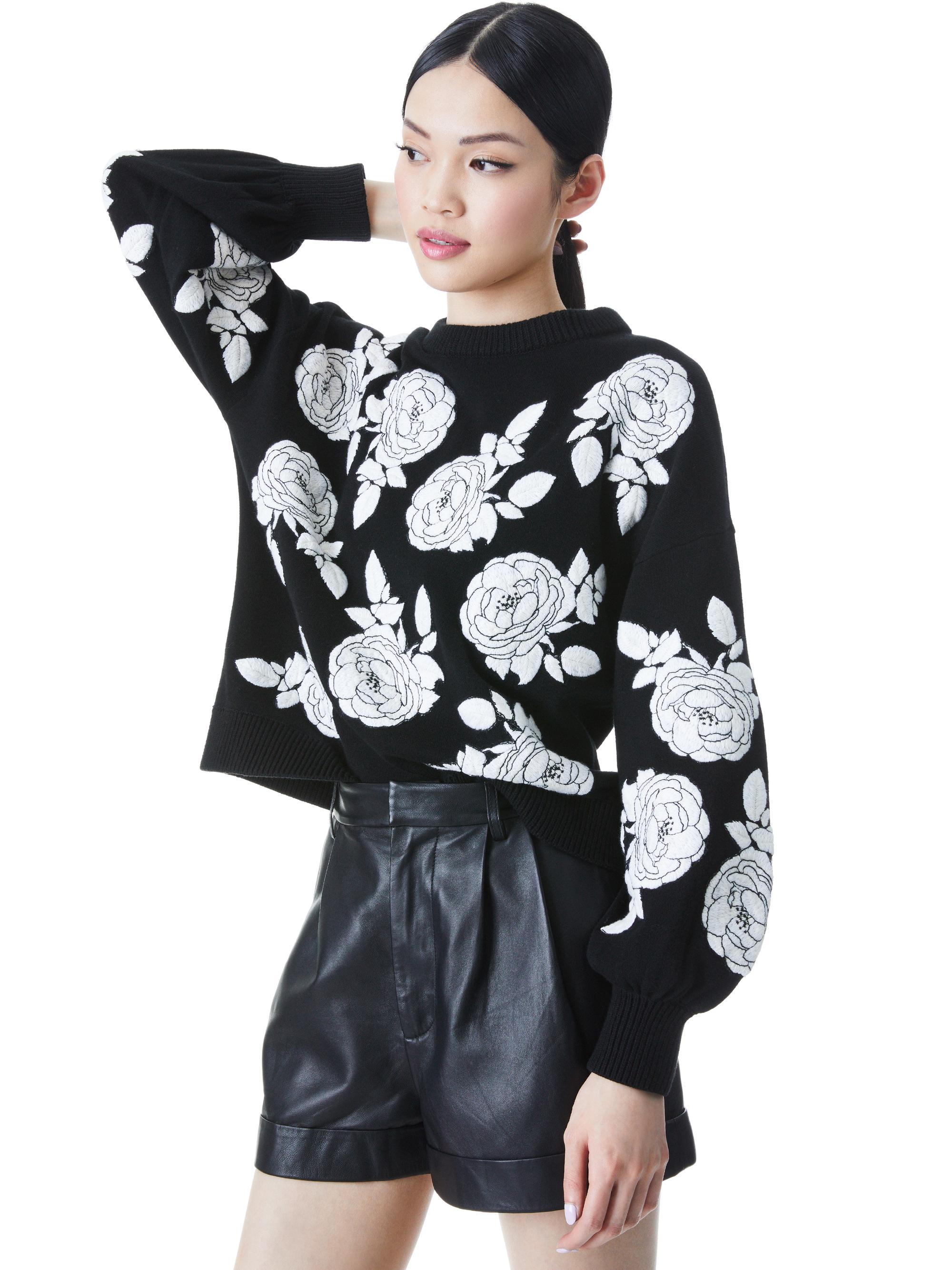 CARWEN EMBROIDERED PULLOVER