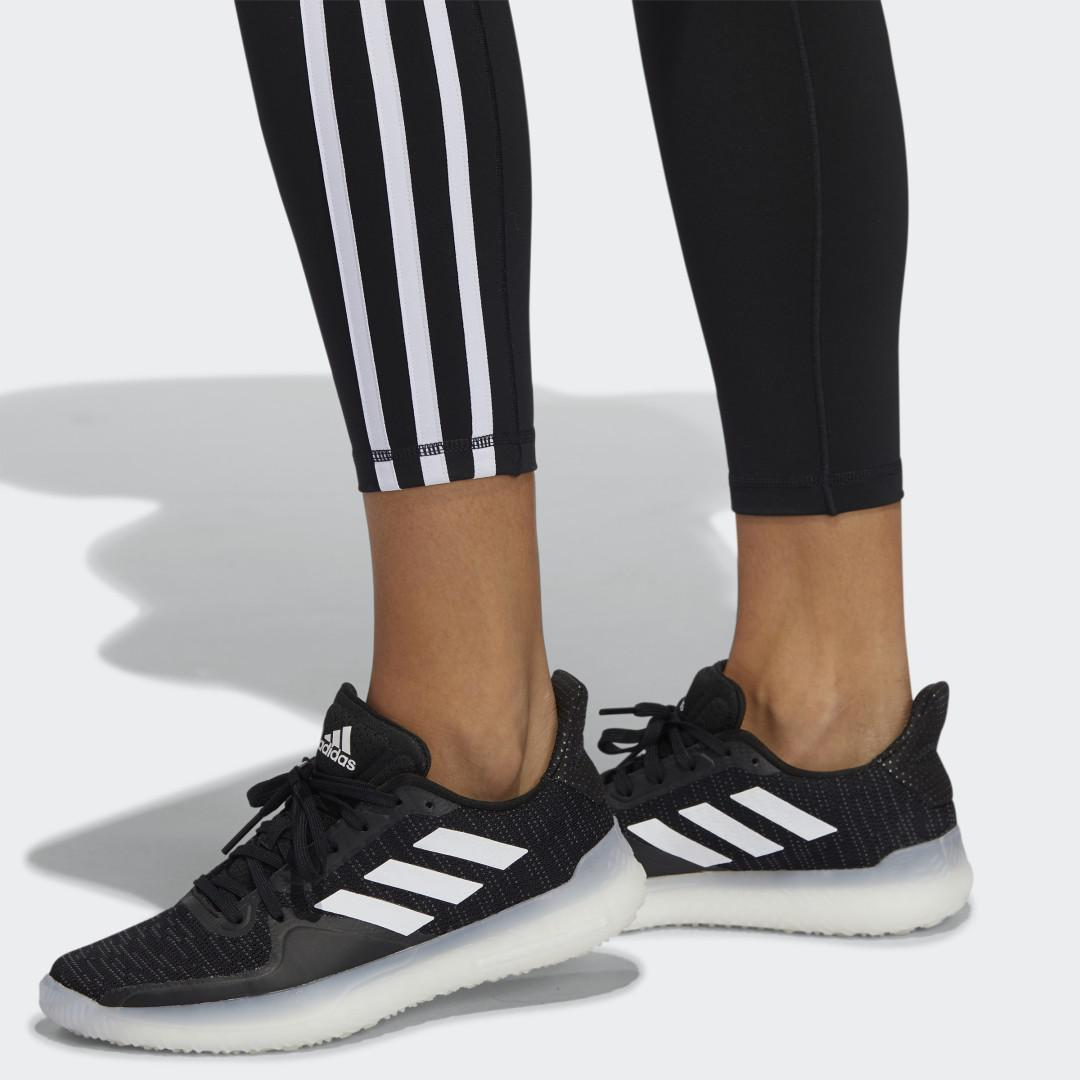 Believe This 2.0 3-Stripes 7/8 Tights Black 2