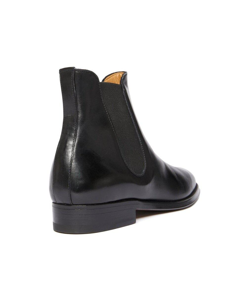 ODPEssentials Classic Chelsea Boot - Black Leather 3