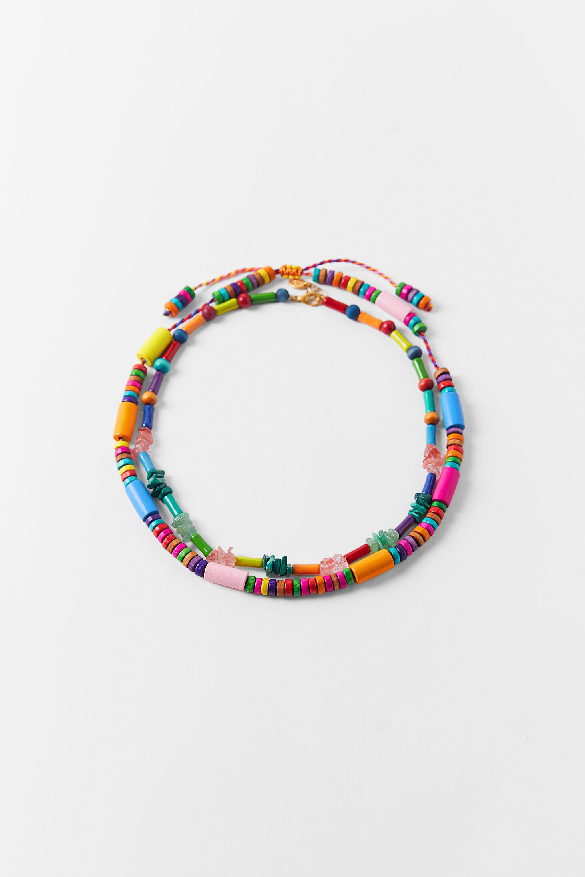 PACK OF MULTI-COLORED NECKLACES