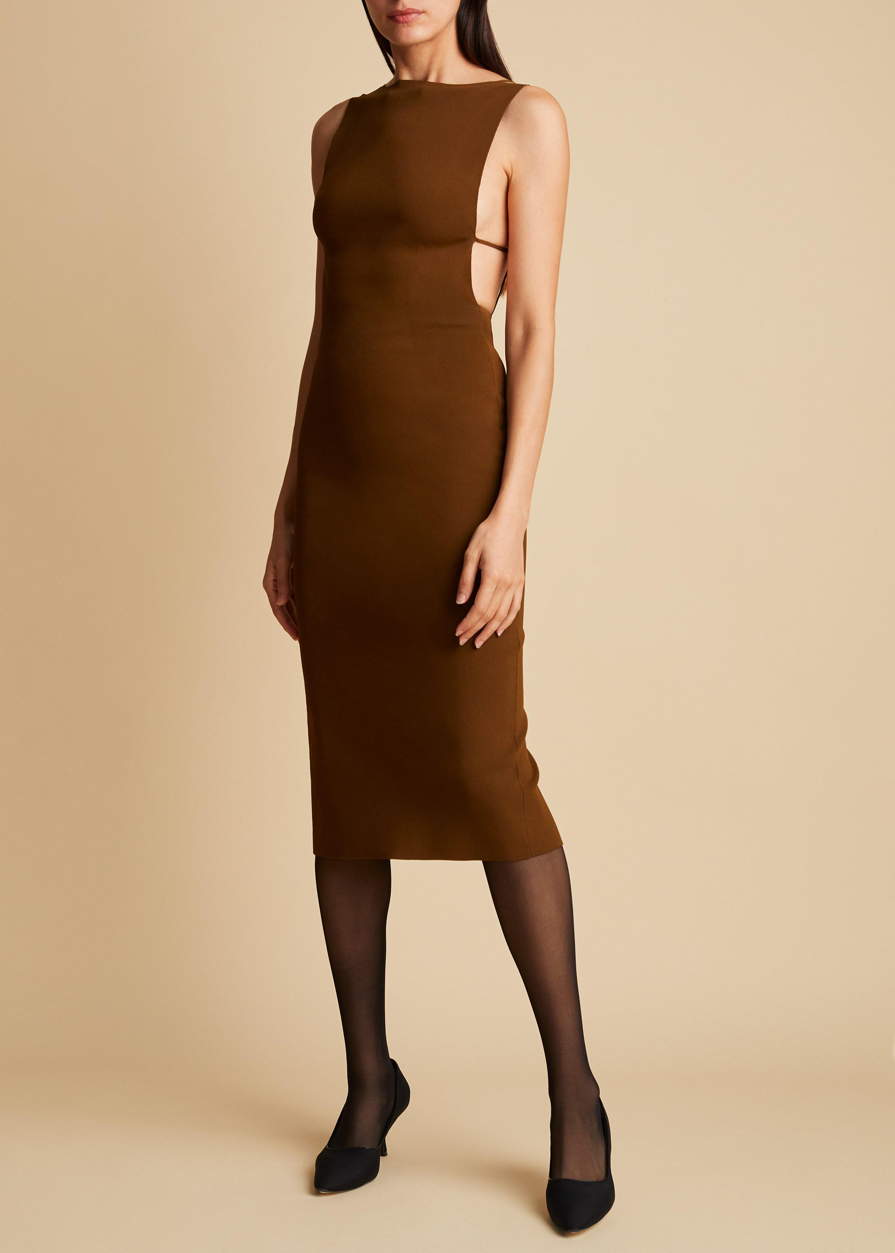 The Sofie Dress in Absinthe
