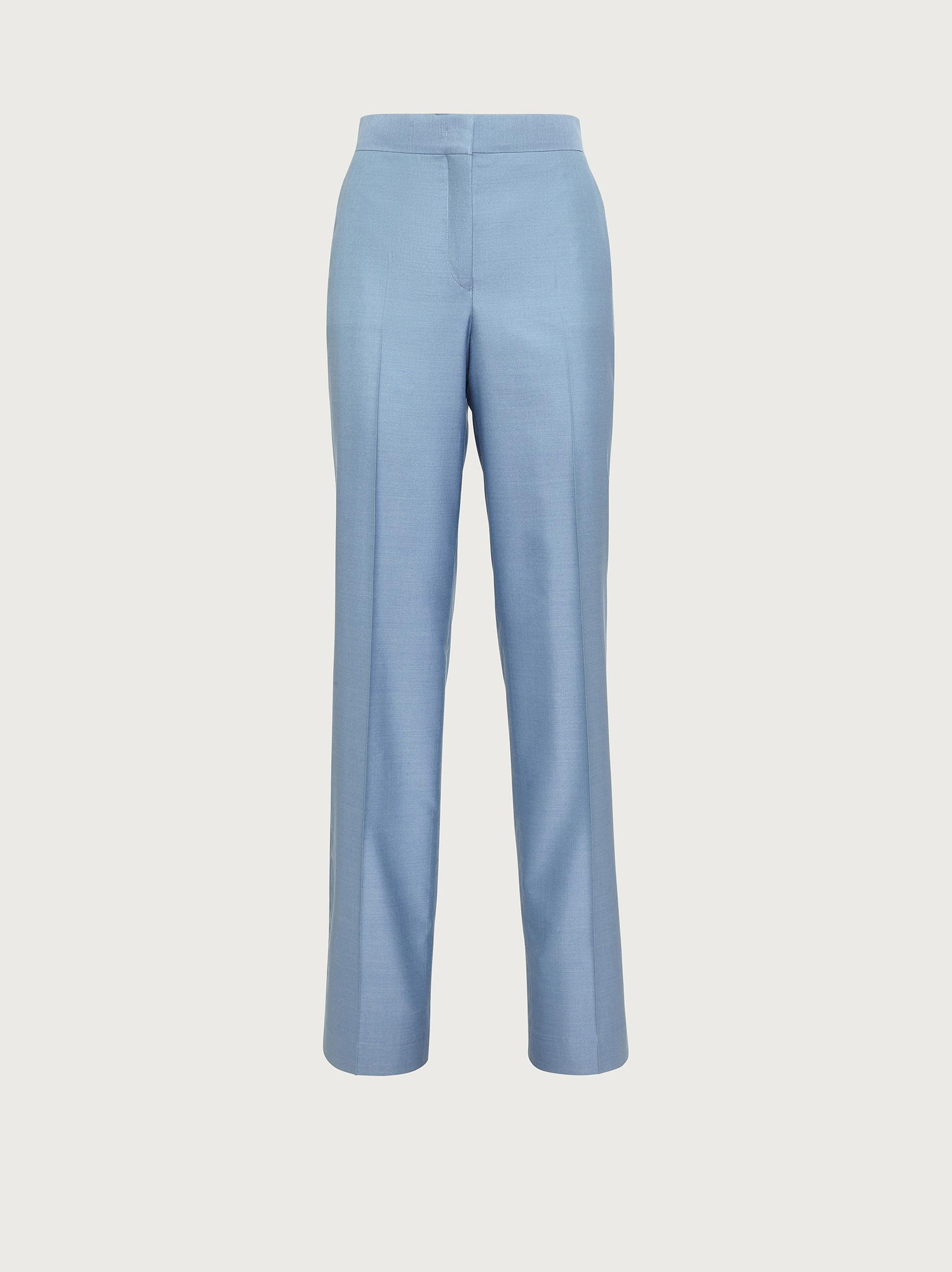 TAILORED SILK TROUSERS 3
