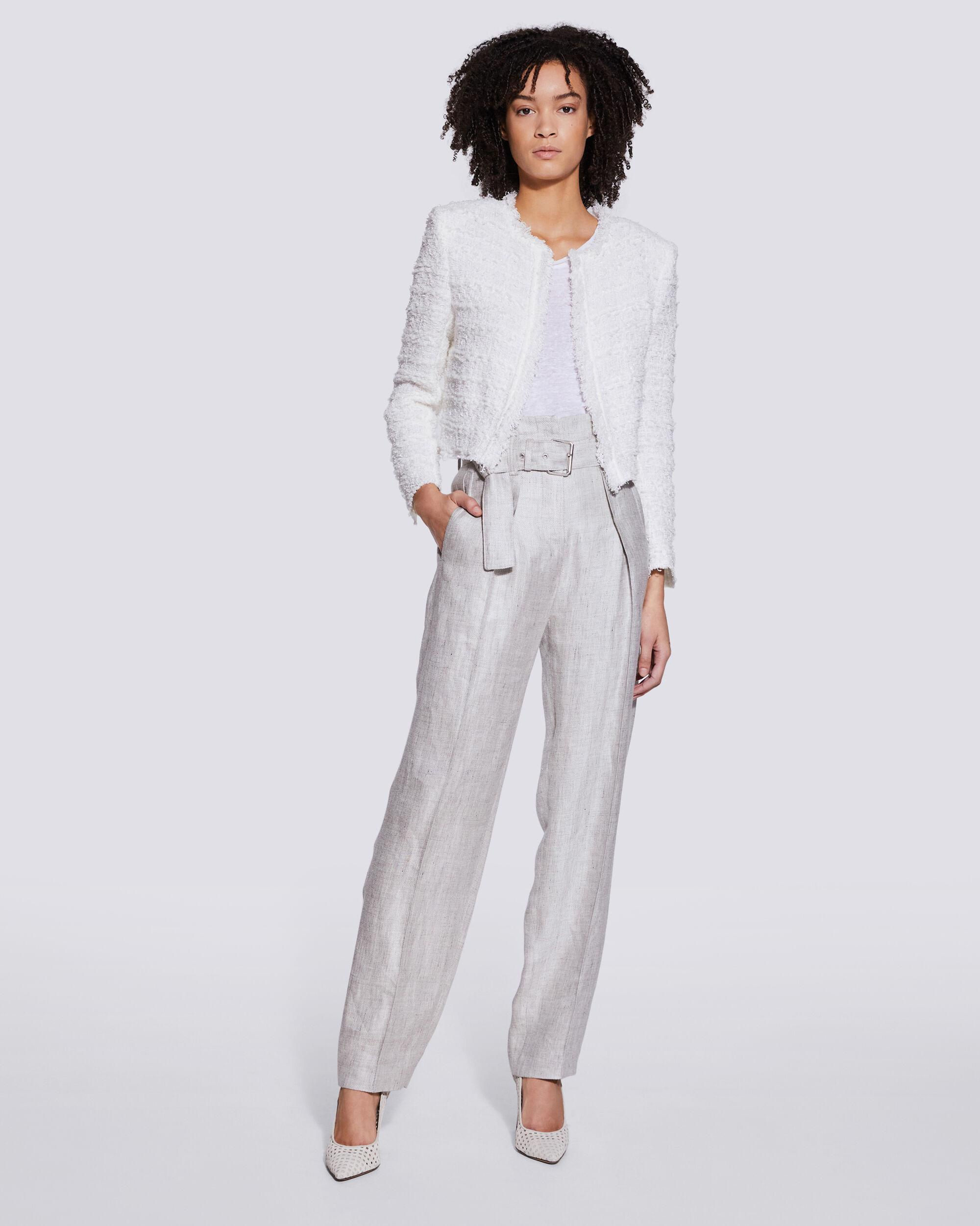 NAJAVA BELTED HIGH WAIST TROUSERS