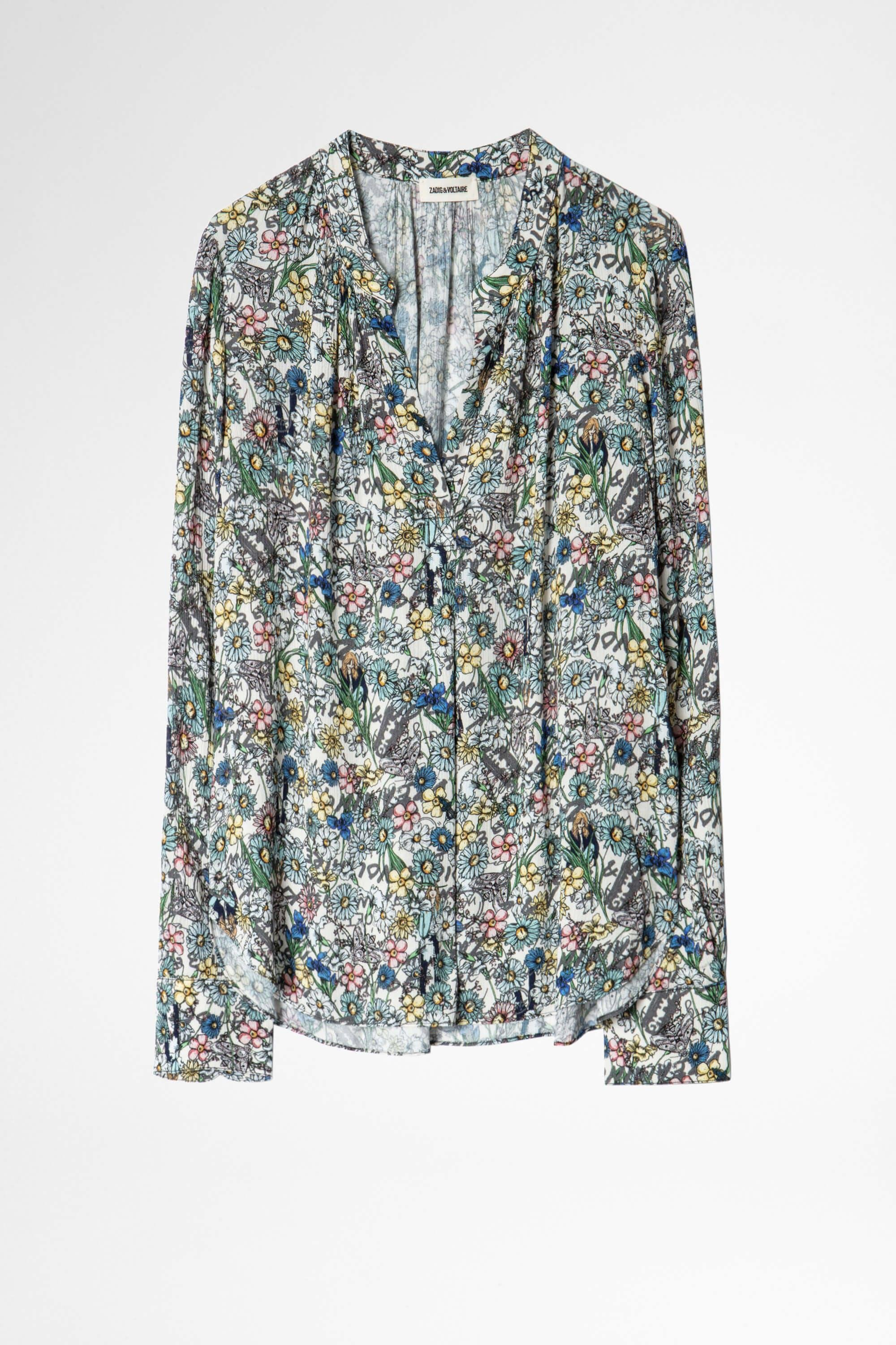 Tink Crinkle Flower Tunic 5