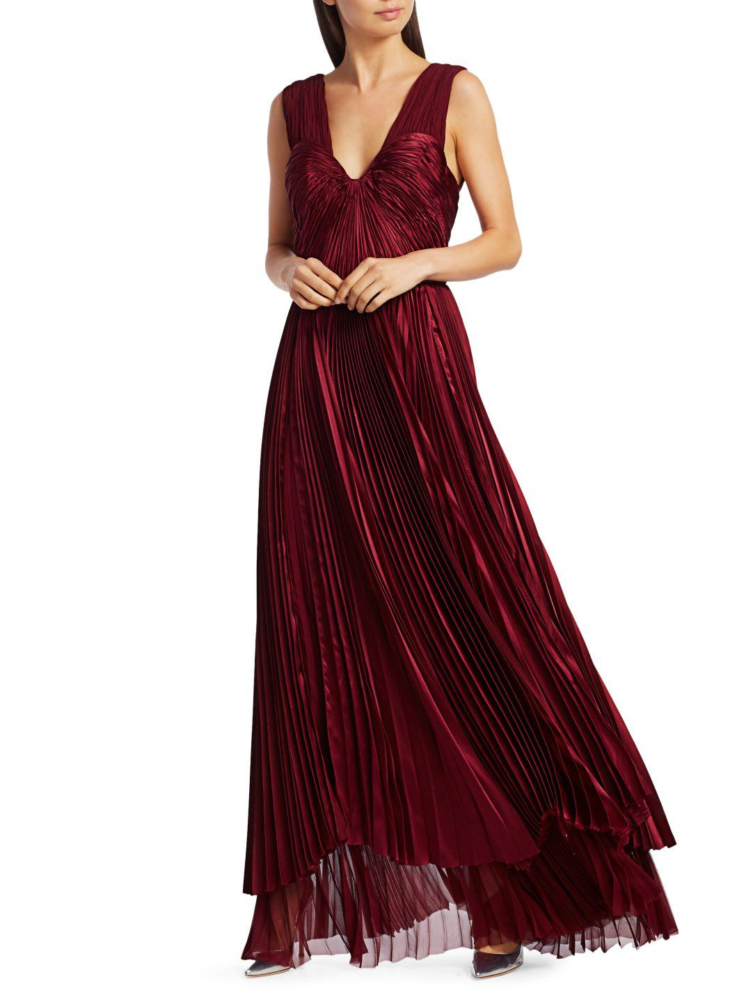PLEATED TIERED GOWN 1