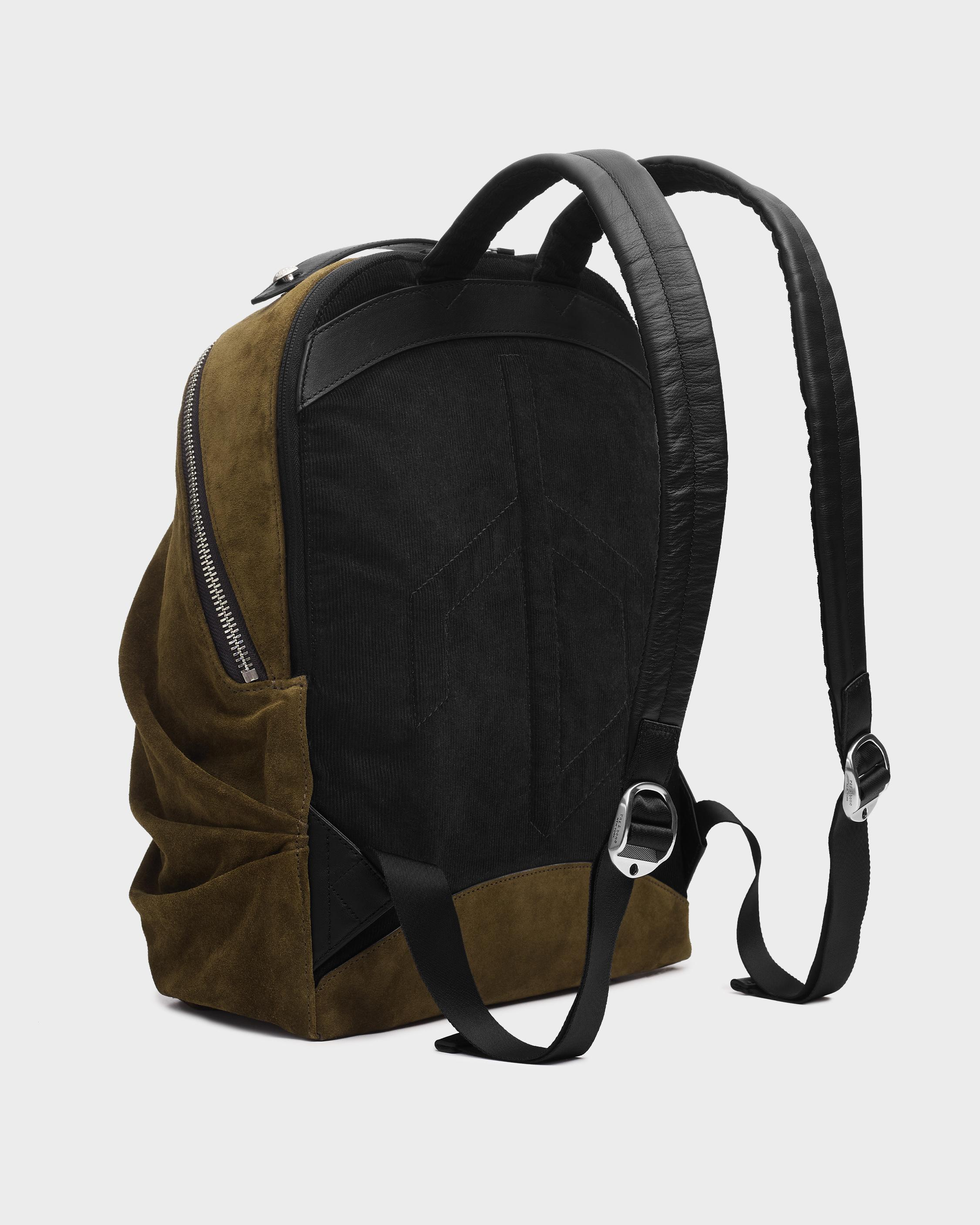 Commuter backpack - suede 1