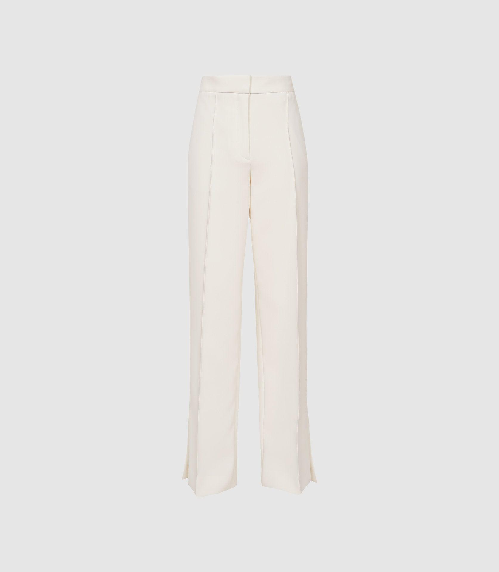 LEAH - WIDE LEG TAILORED TROUSERS 5