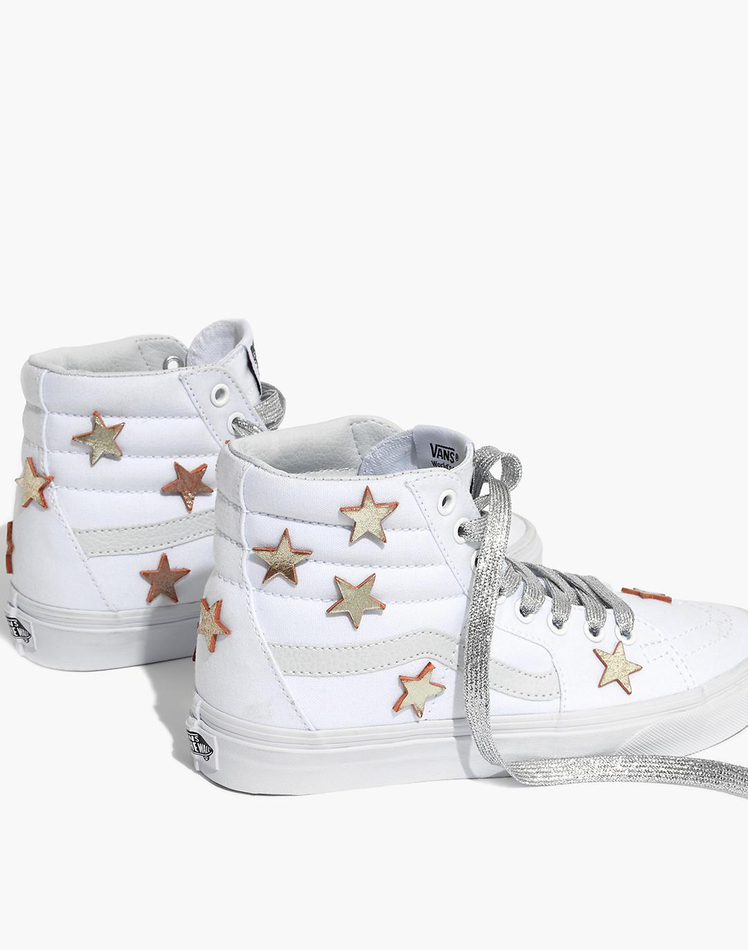Madewell Star-Patched Vans® Unisex SK8-Hi High-Top Sneakers