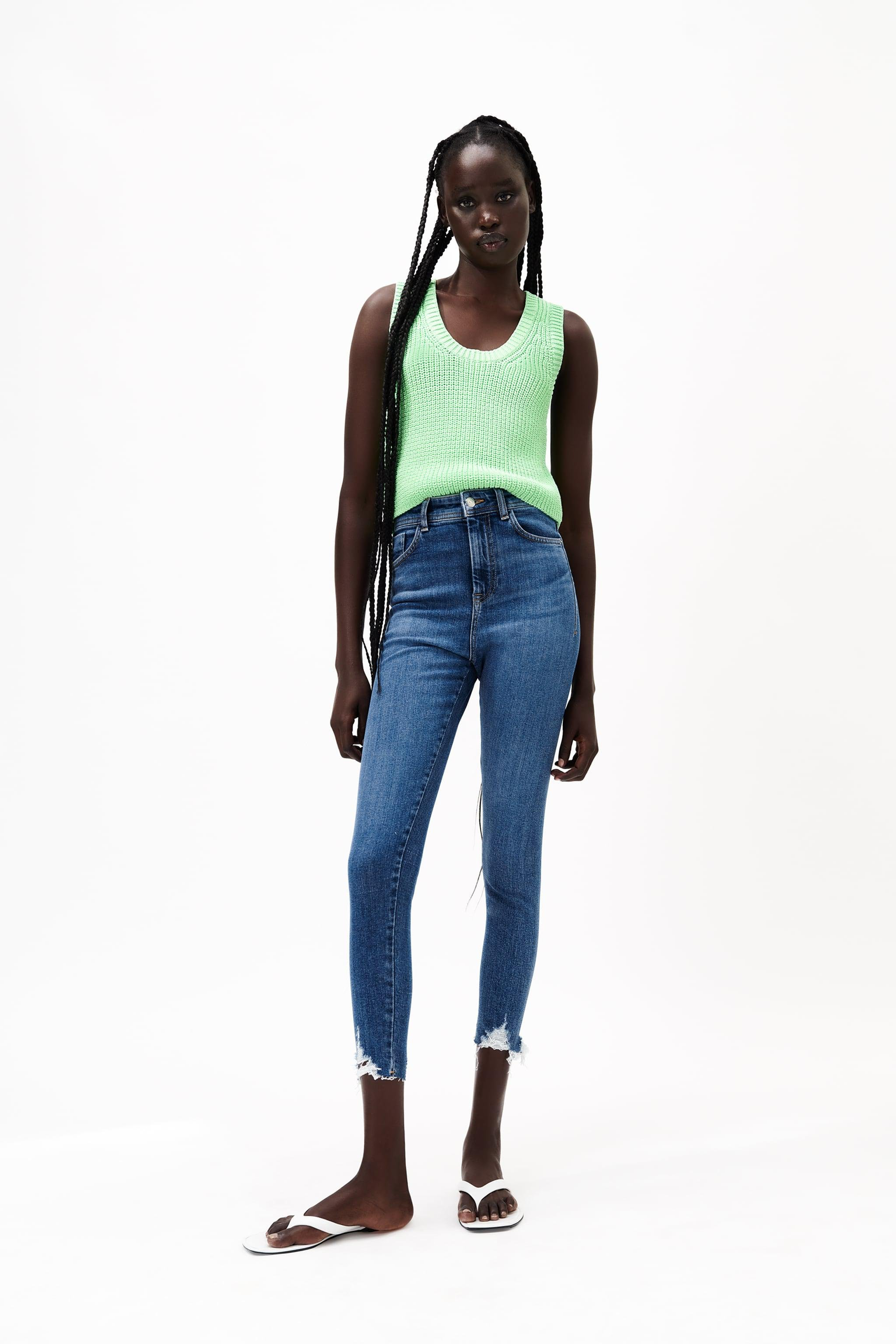 Z1975 HIGH RISE SKINNY SEAMLESS JEANS