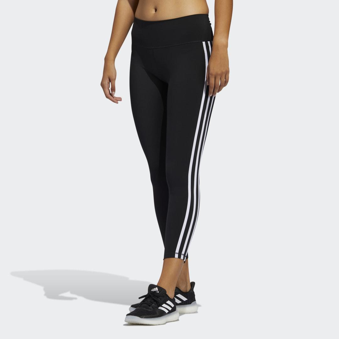 Believe This 2.0 3-Stripes 7/8 Tights Black