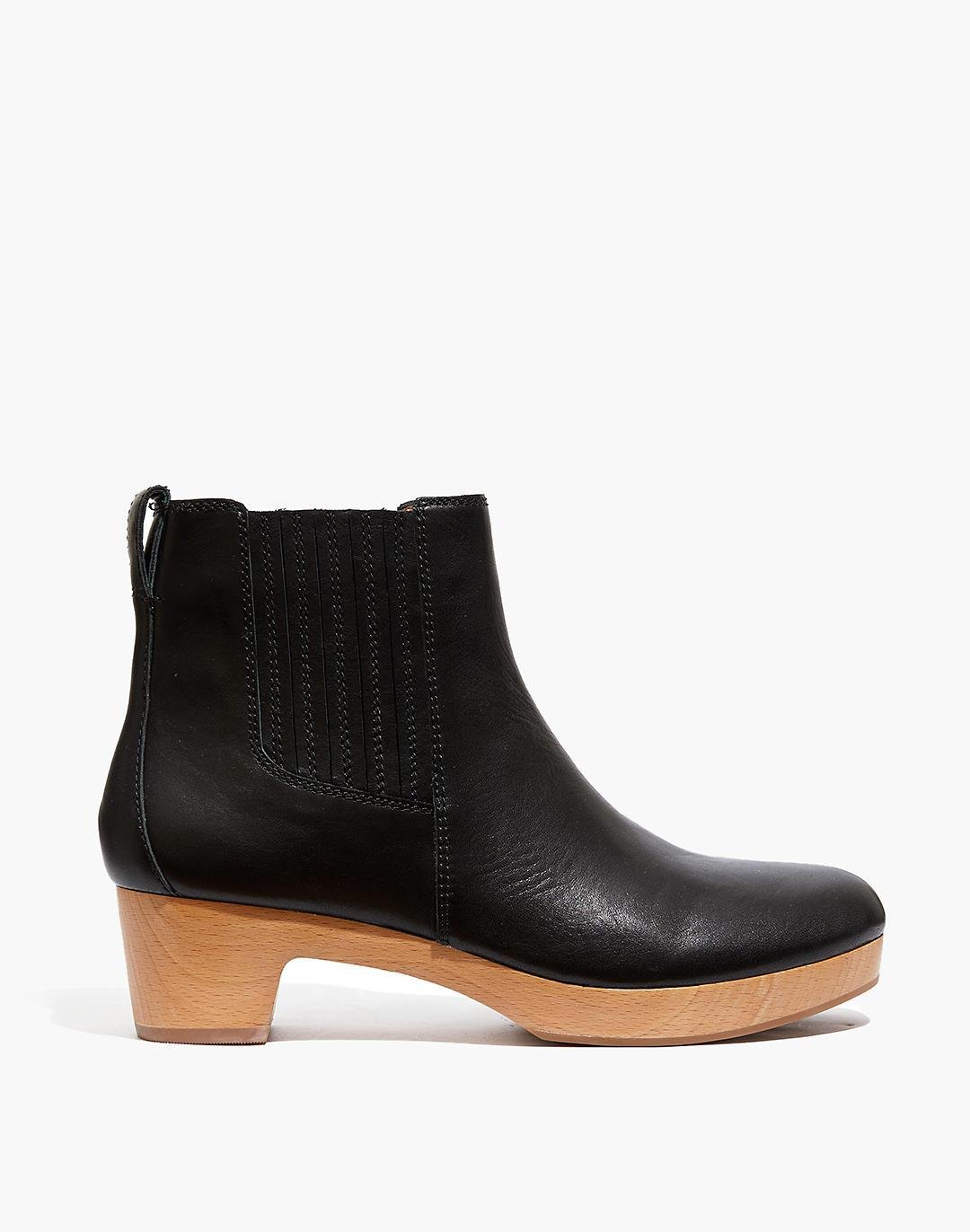 The Clog Boot in Leather 1