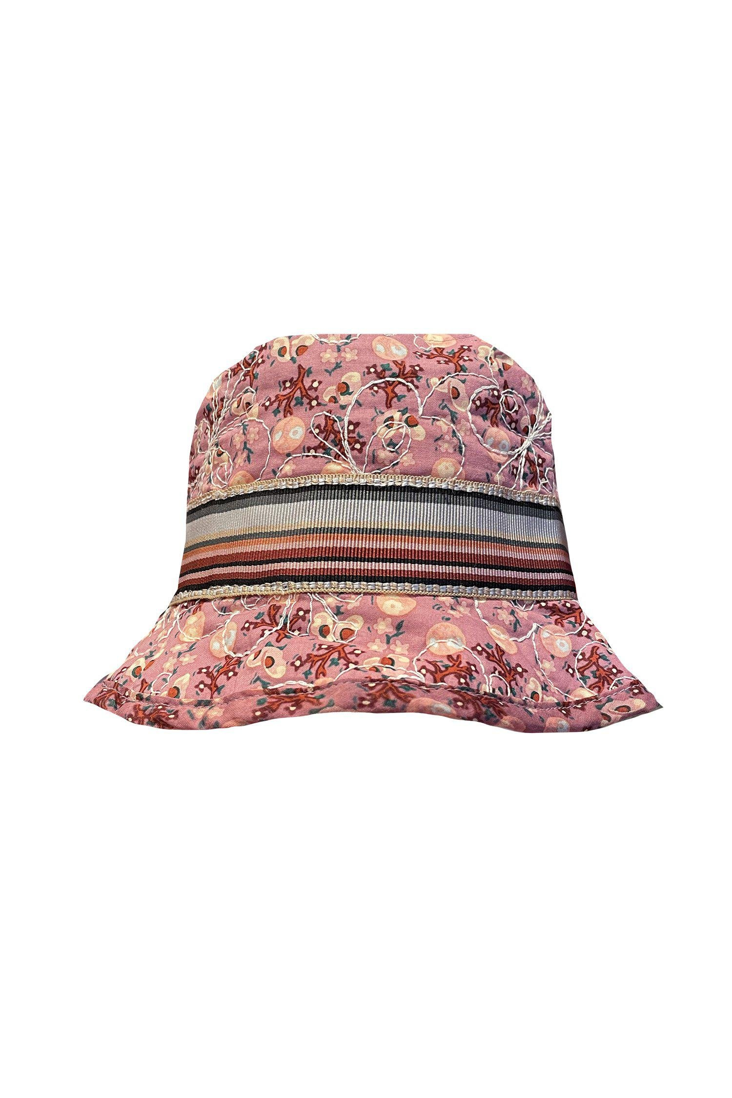 Butterfly Meadows Quilted Bucket Hat
