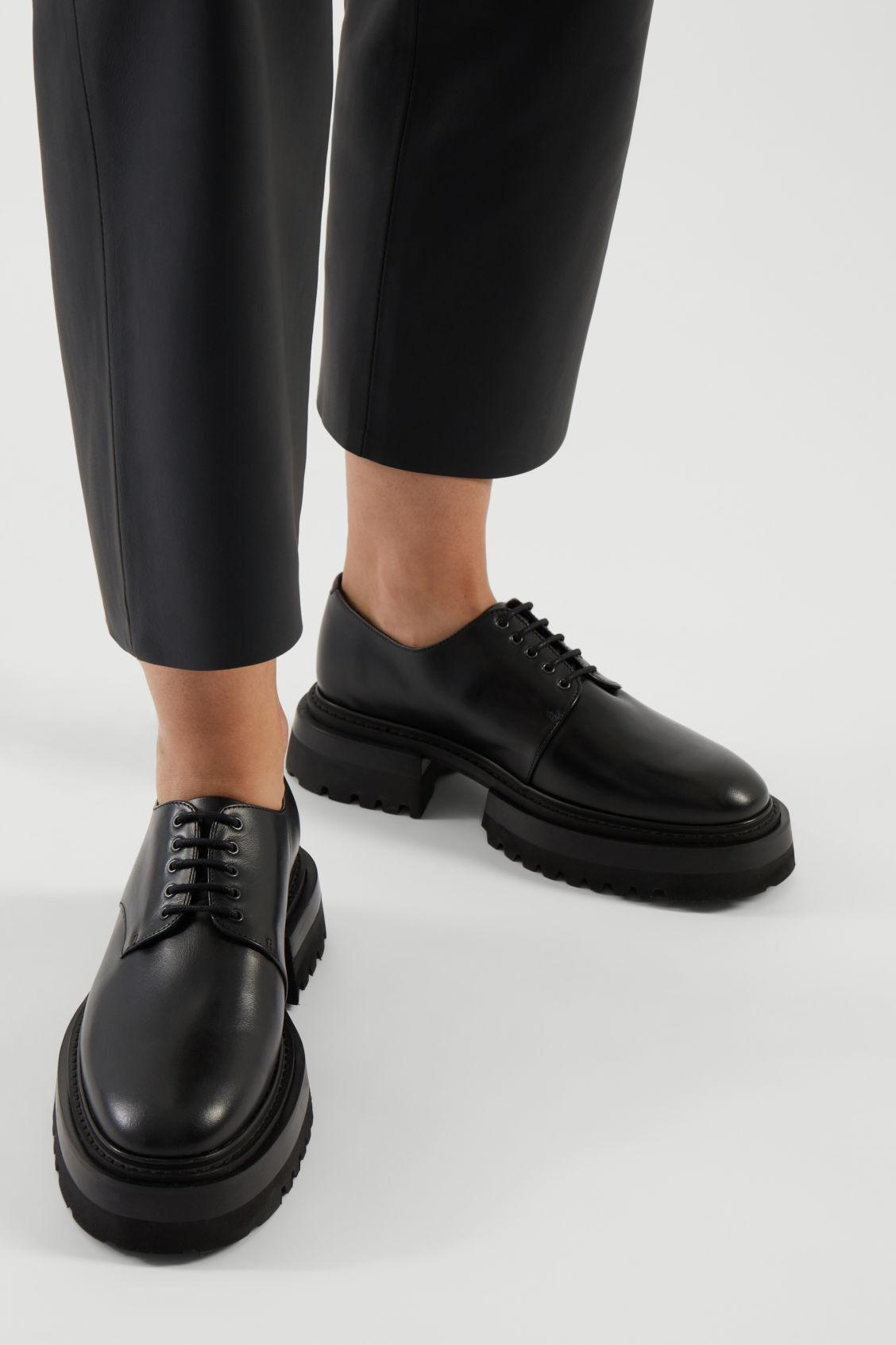 CHUNKY DERBY SHOES 9