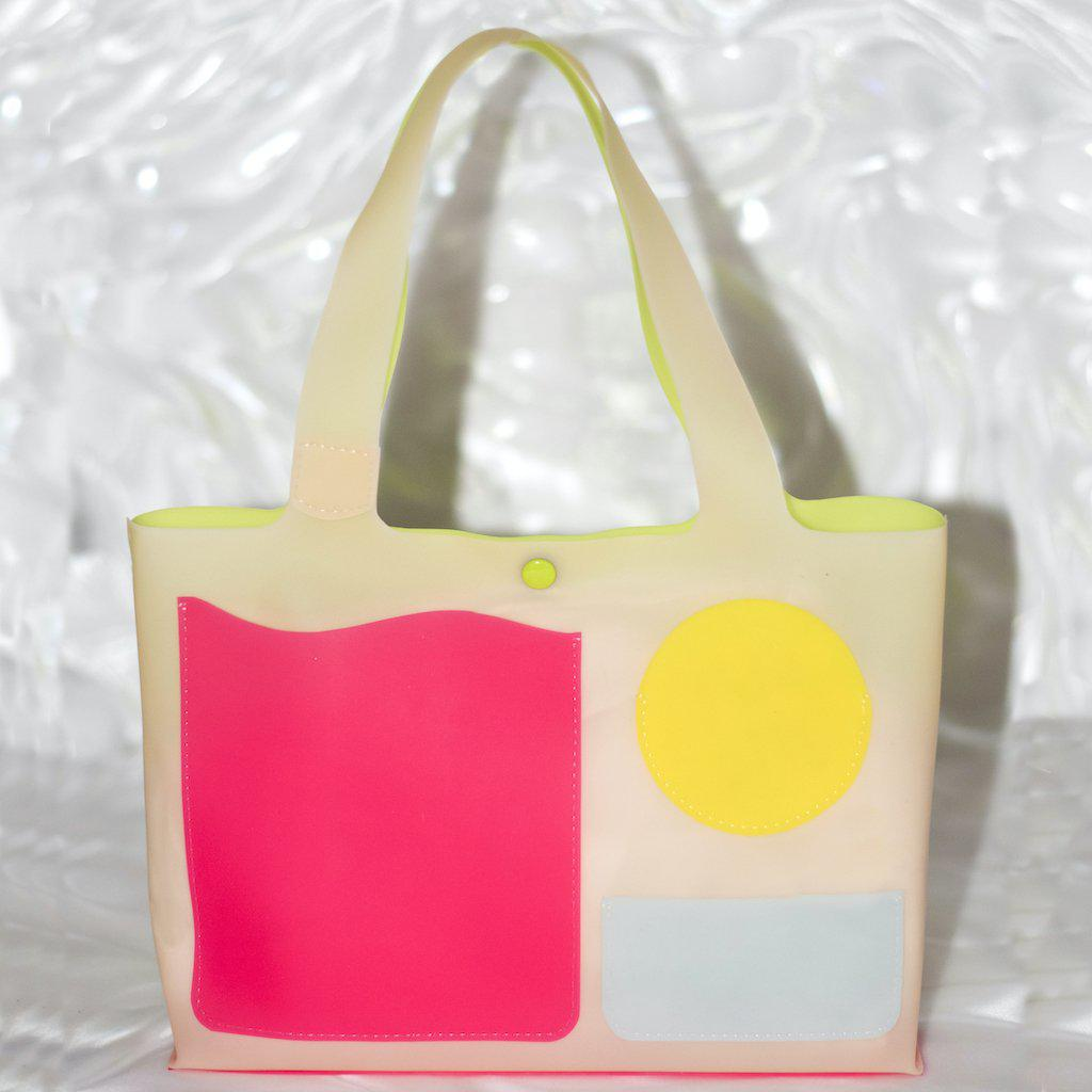 Mini Jelly Tote in Candy Coated