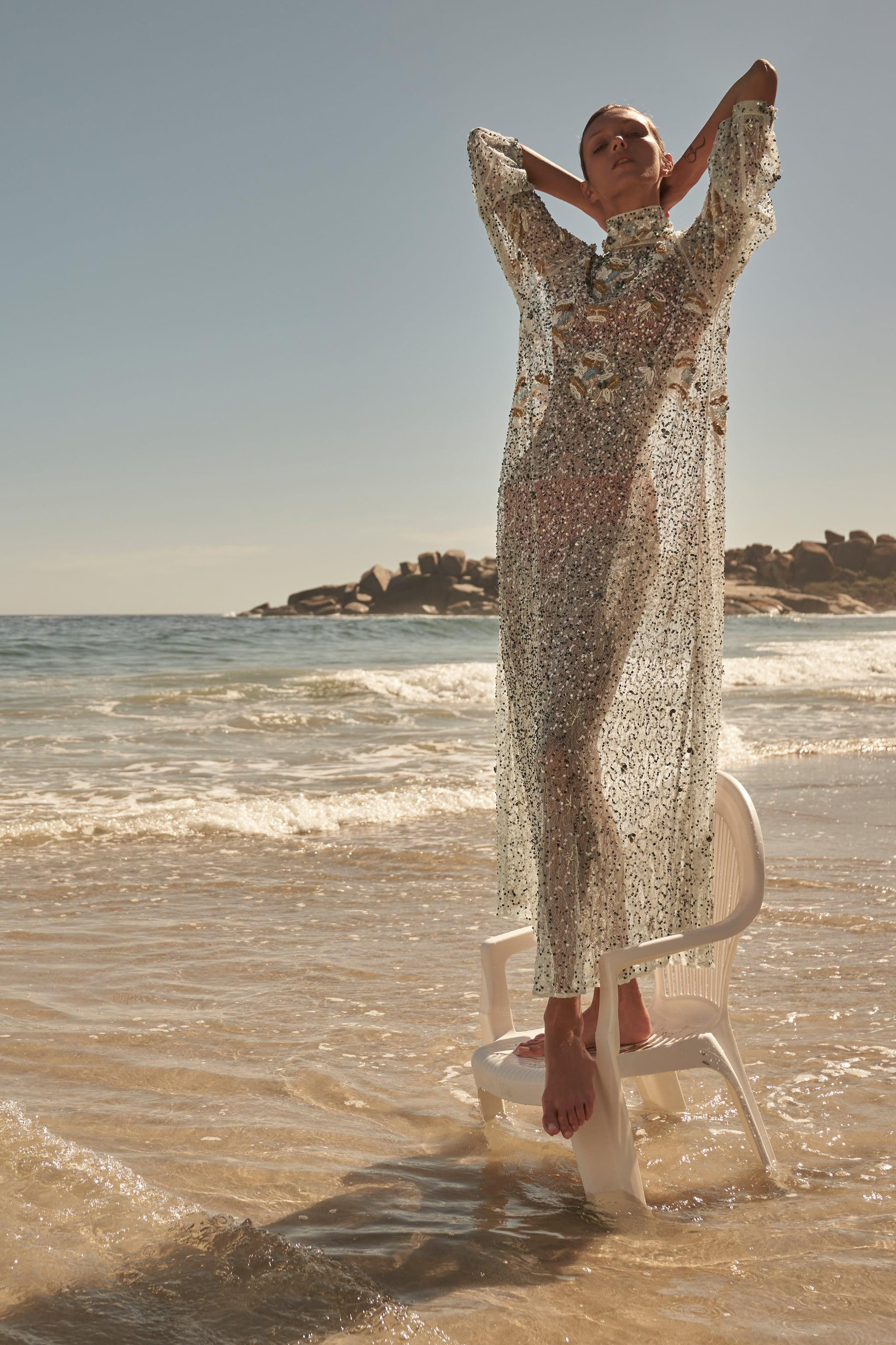 LONG SEQUIN DRESS LIMITED EDITION