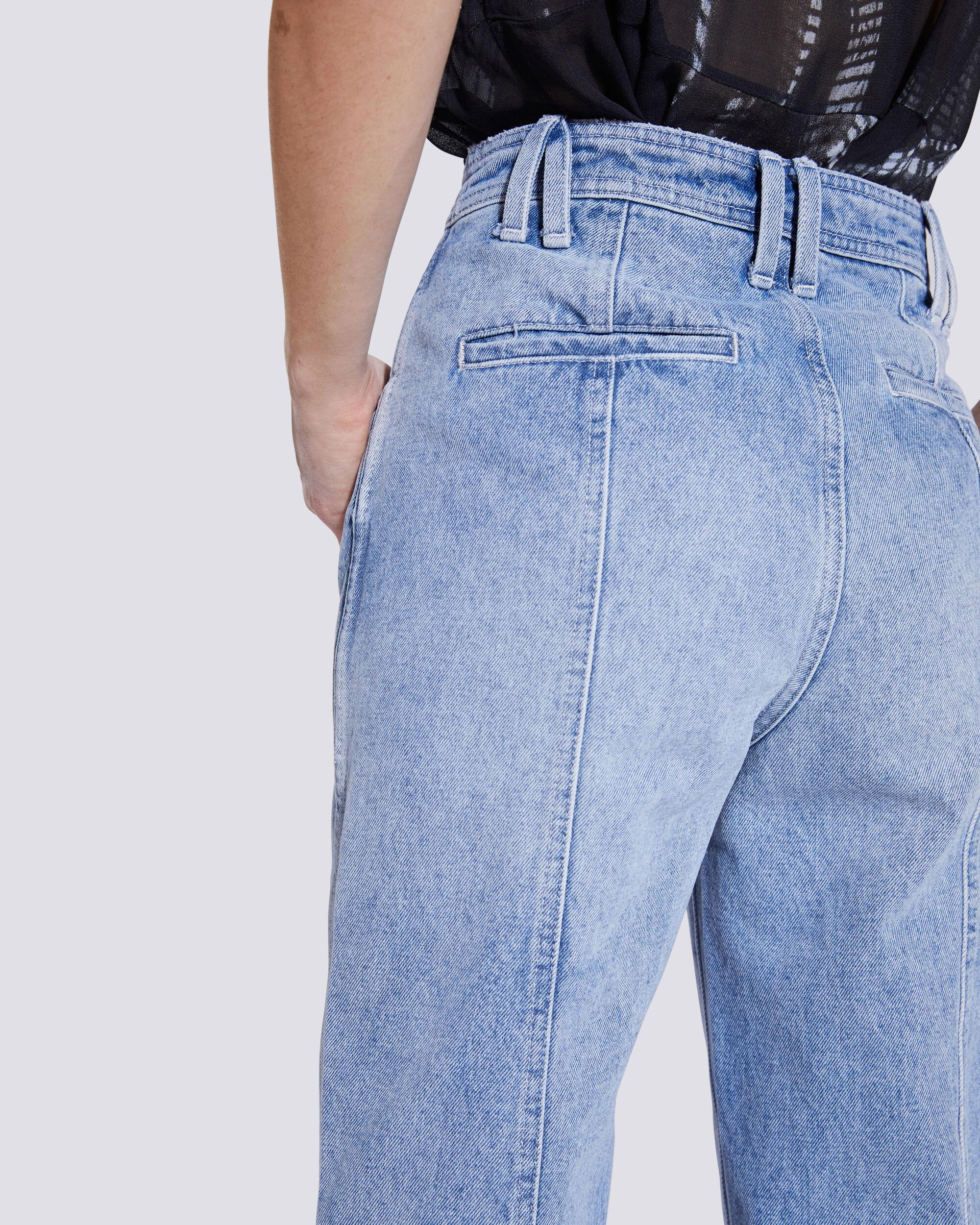ORIONIS RELAXED HIGH RISE STRAIGHT LEG JEANS 4