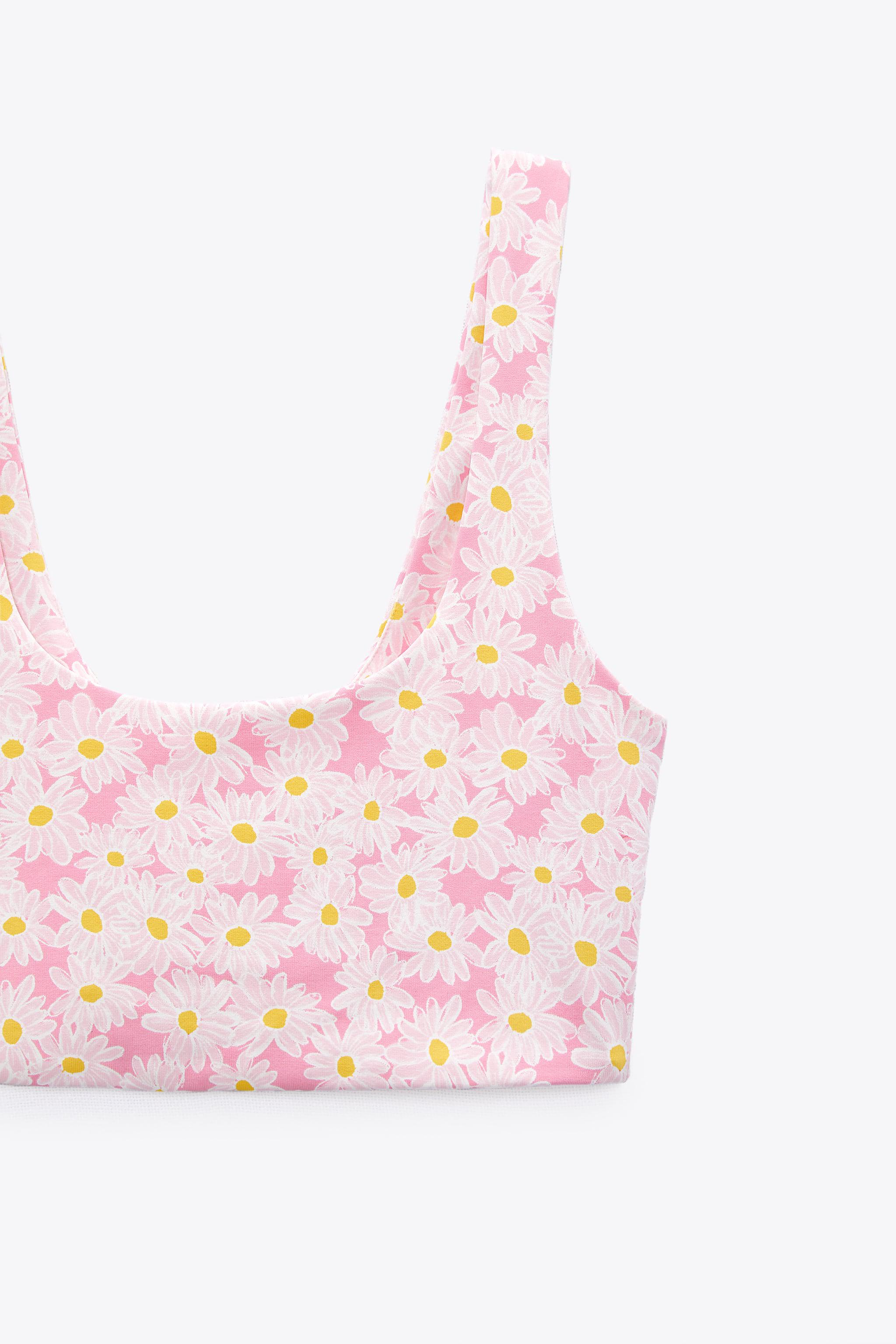 PRINTED STRETCHY TOP 3