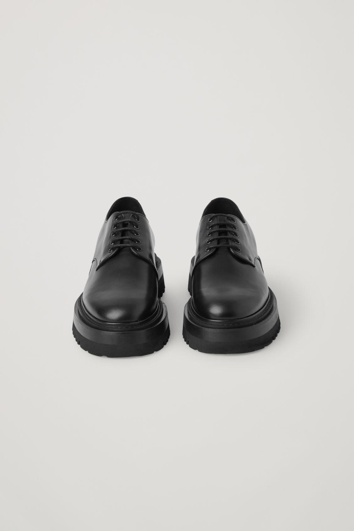 CHUNKY DERBY SHOES 1