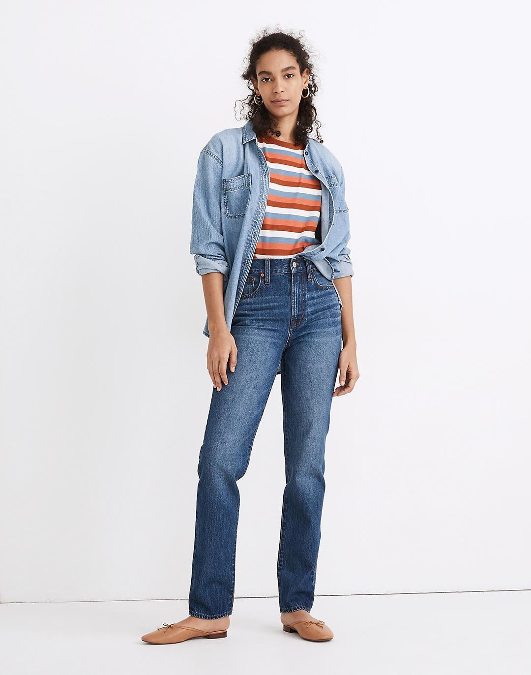 The Perfect Vintage Full-Length Jean in Concordia Wash