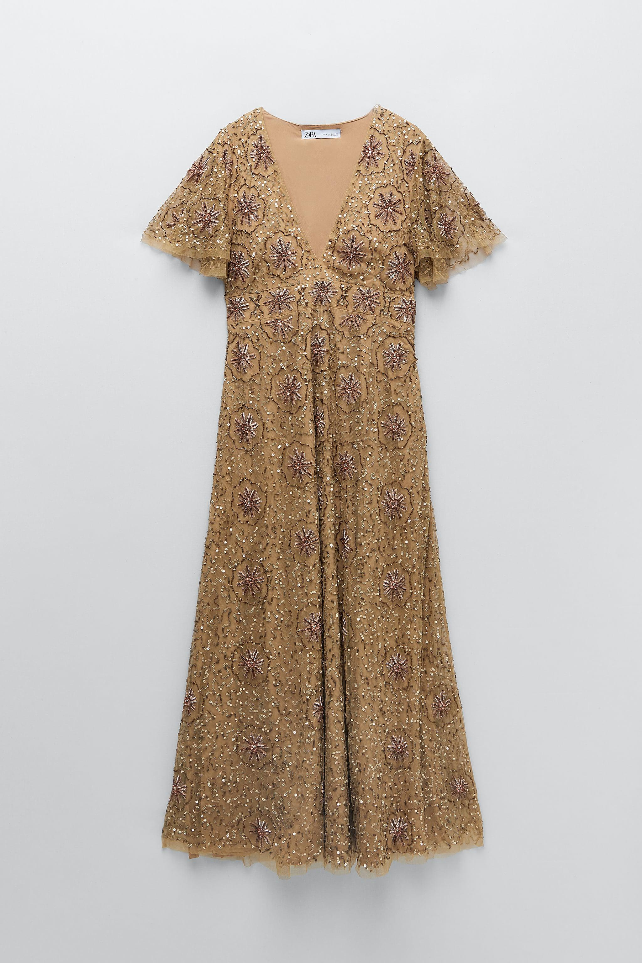 BEADED SPECIAL EDITION KNIT DRESS 6