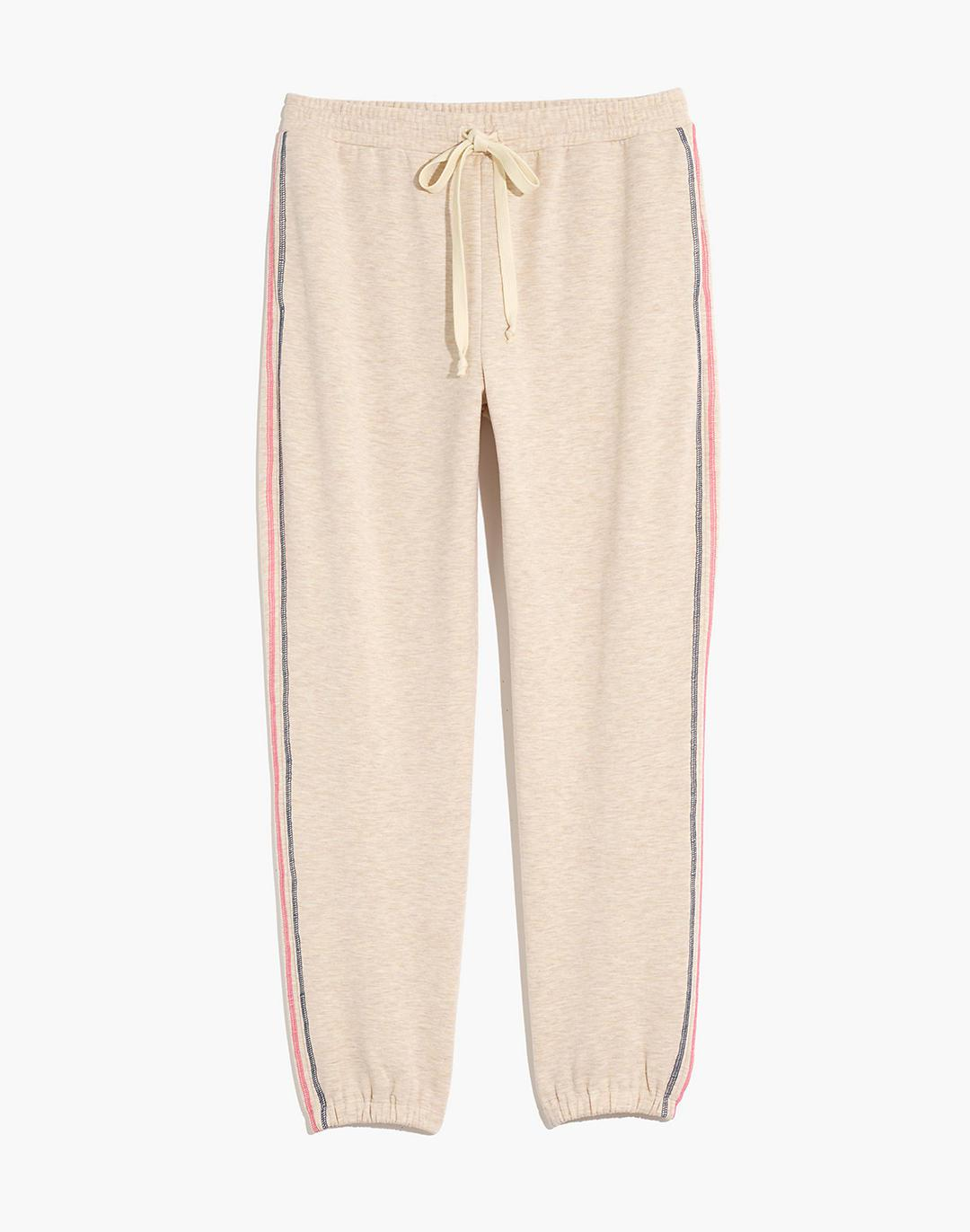 MWL Superbrushed Contrast-Stitched Easygoing Sweatpants 4