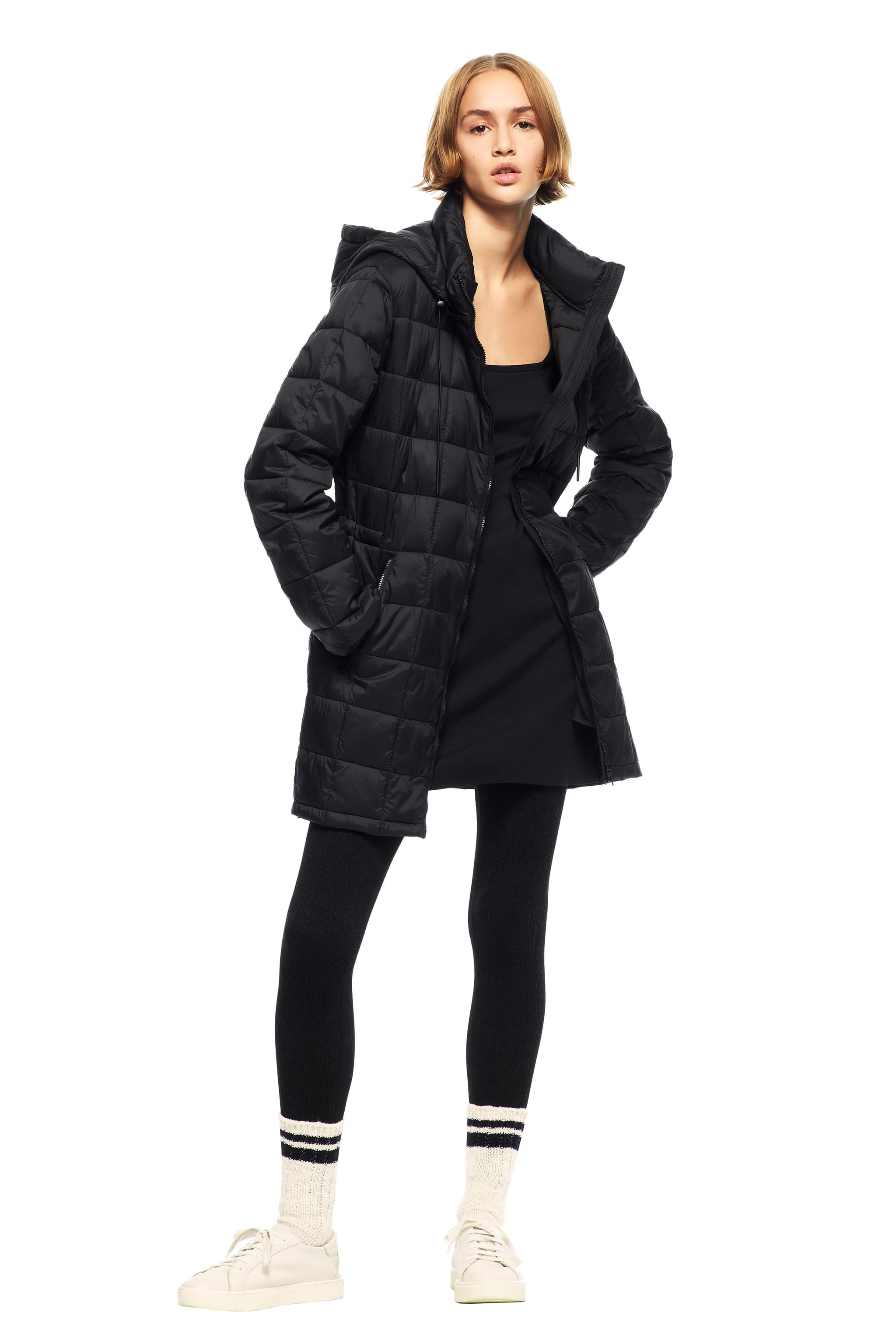 PACKABLE QUILTED COAT