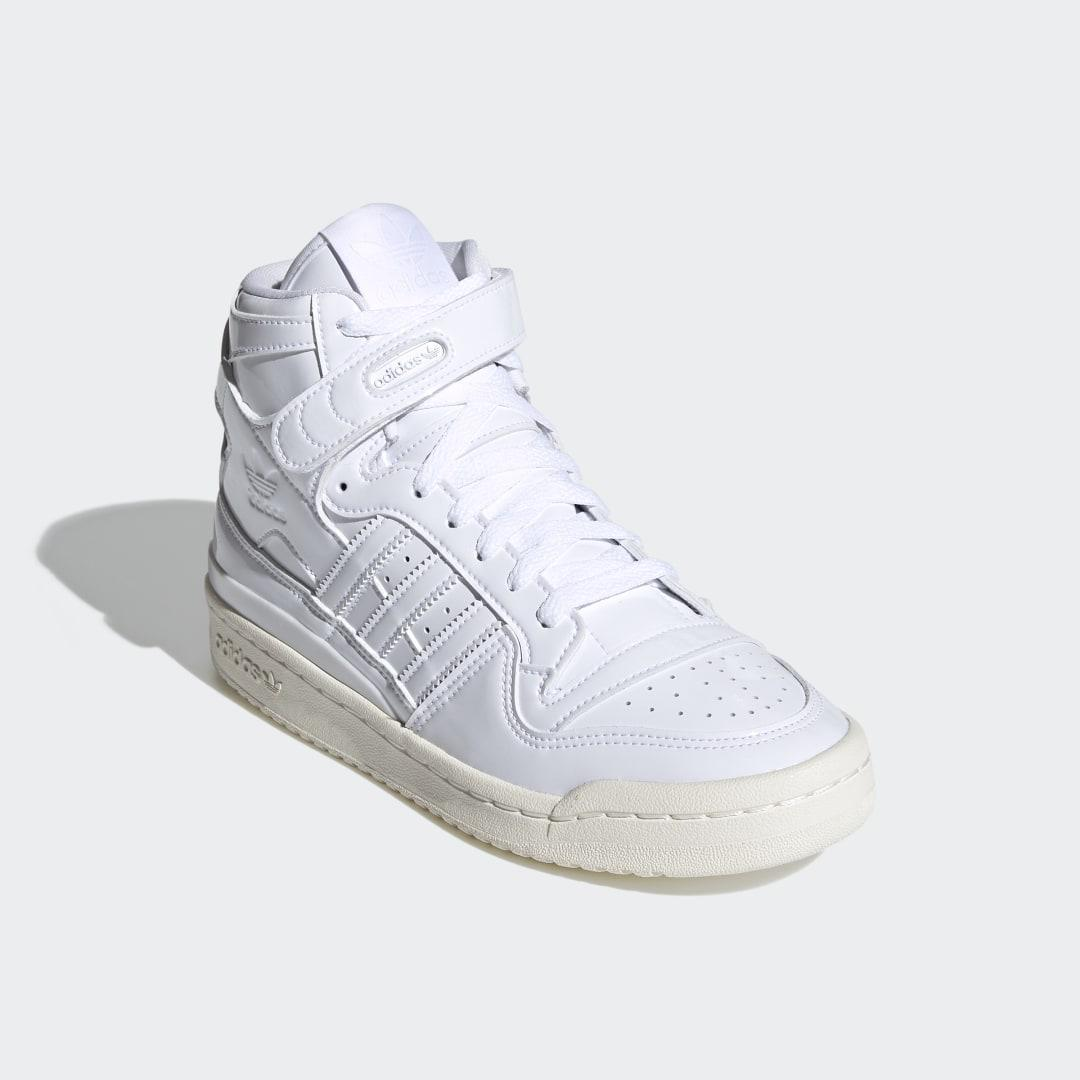 Forum 84 High Shoes White