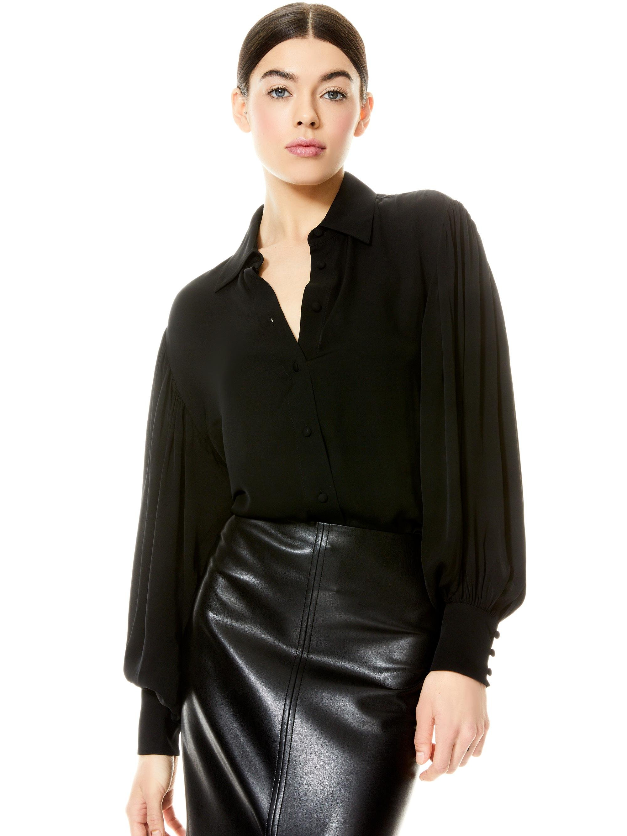 MITCHELL OPEN BACK BLOUSE
