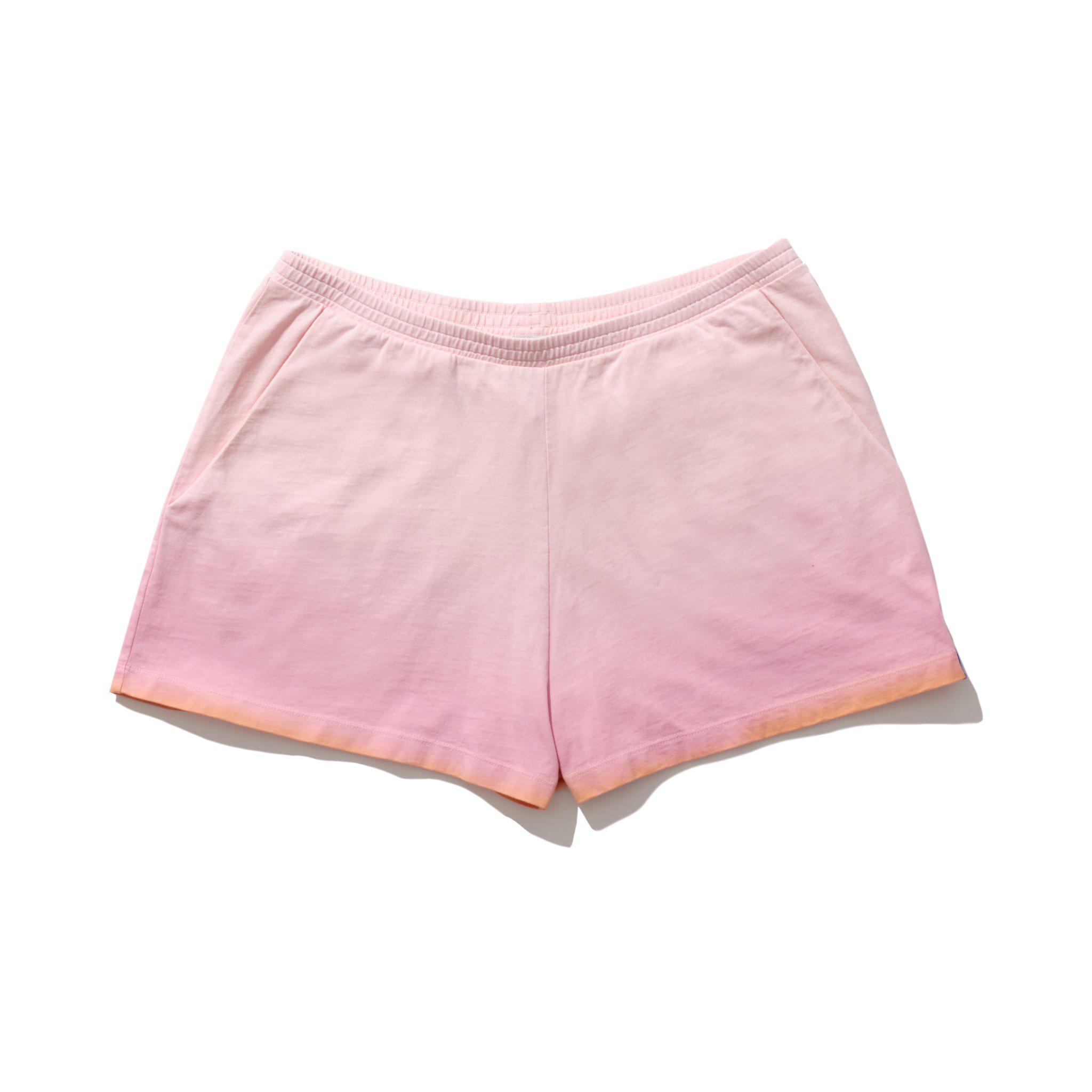 The Ombre Short - Pink/Gold