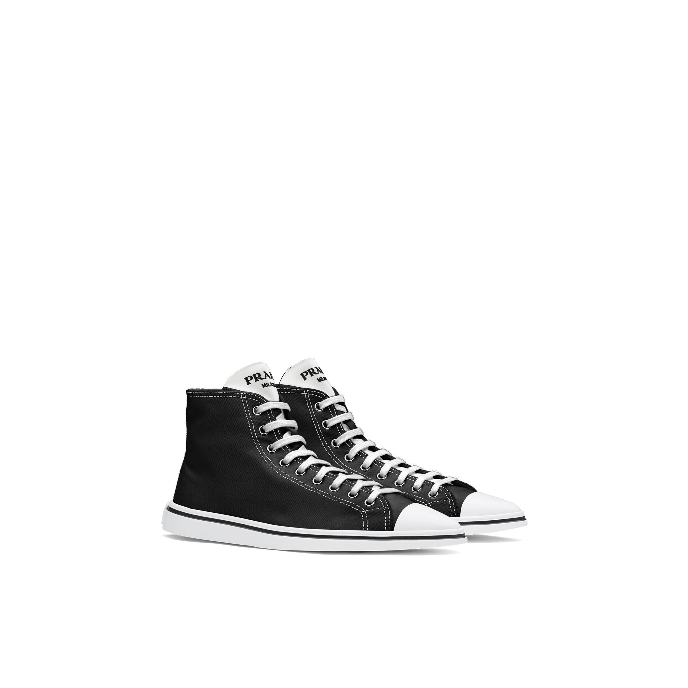 Synthesis High-top Sneakers Women Black