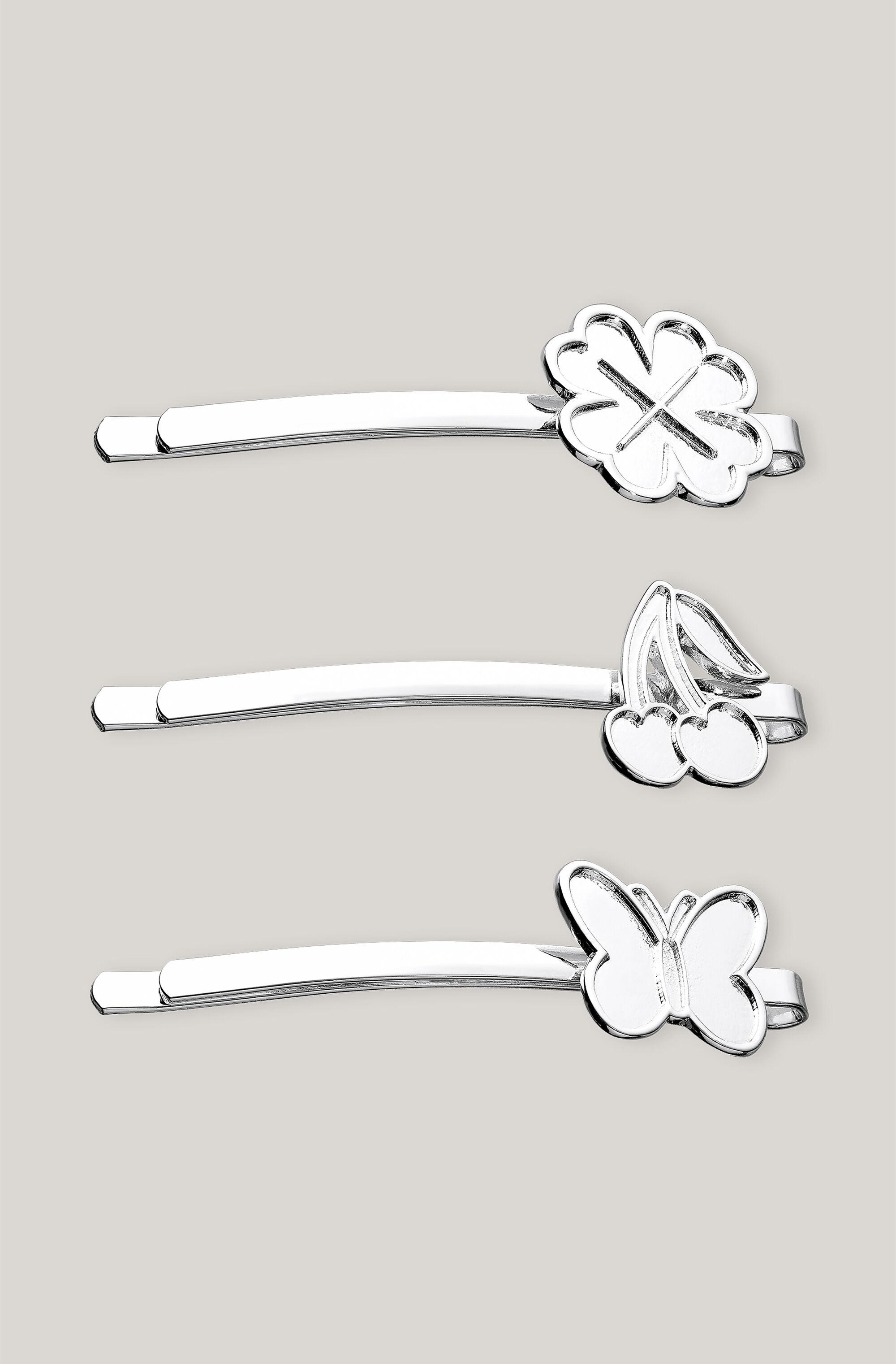 Charms Accessories Hairpin Clover, Cherry, Butterfly