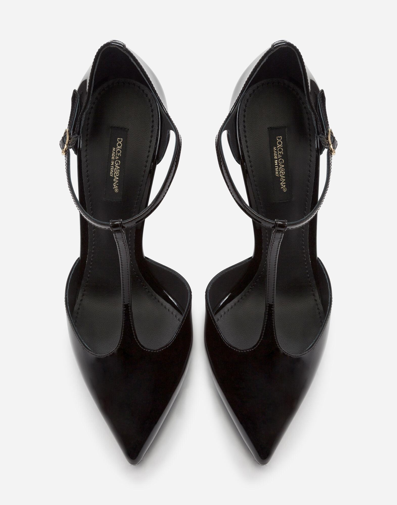 Bellucci t-strap shoes in shiny calfskin 3