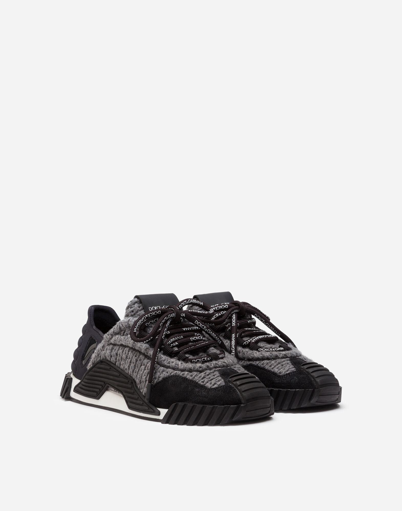 Mixed-material NS1 sneakers 1
