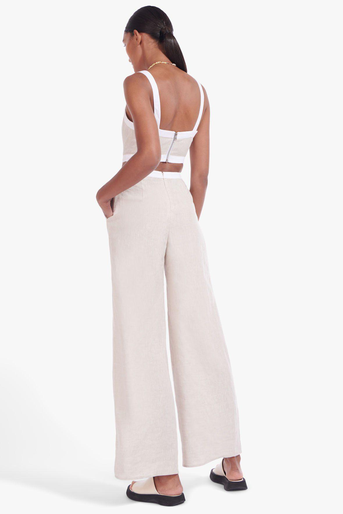 SHELLY JUMPSUIT | NATURAL WHITE 2
