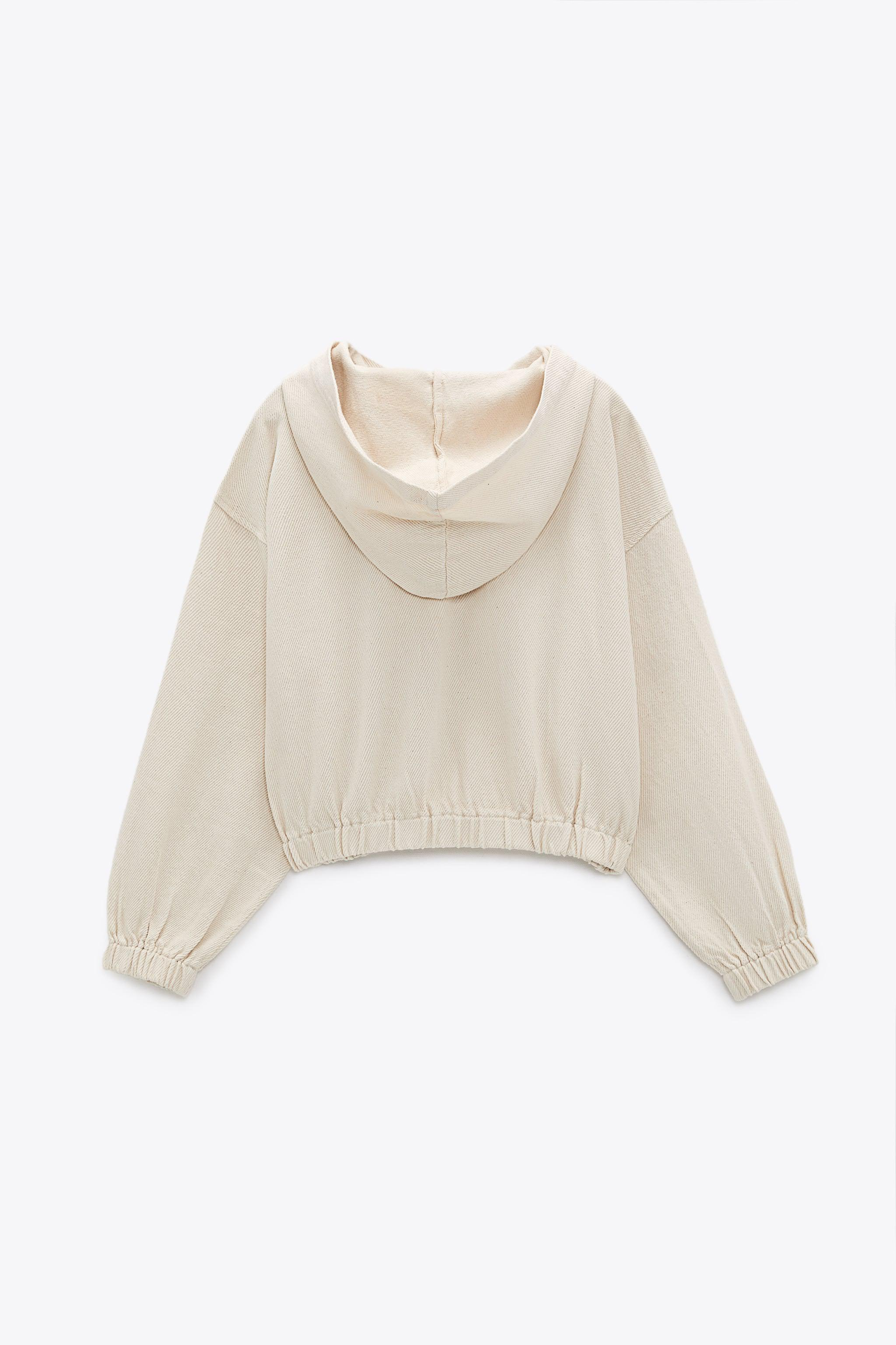 HOODED TWILL TOP 9