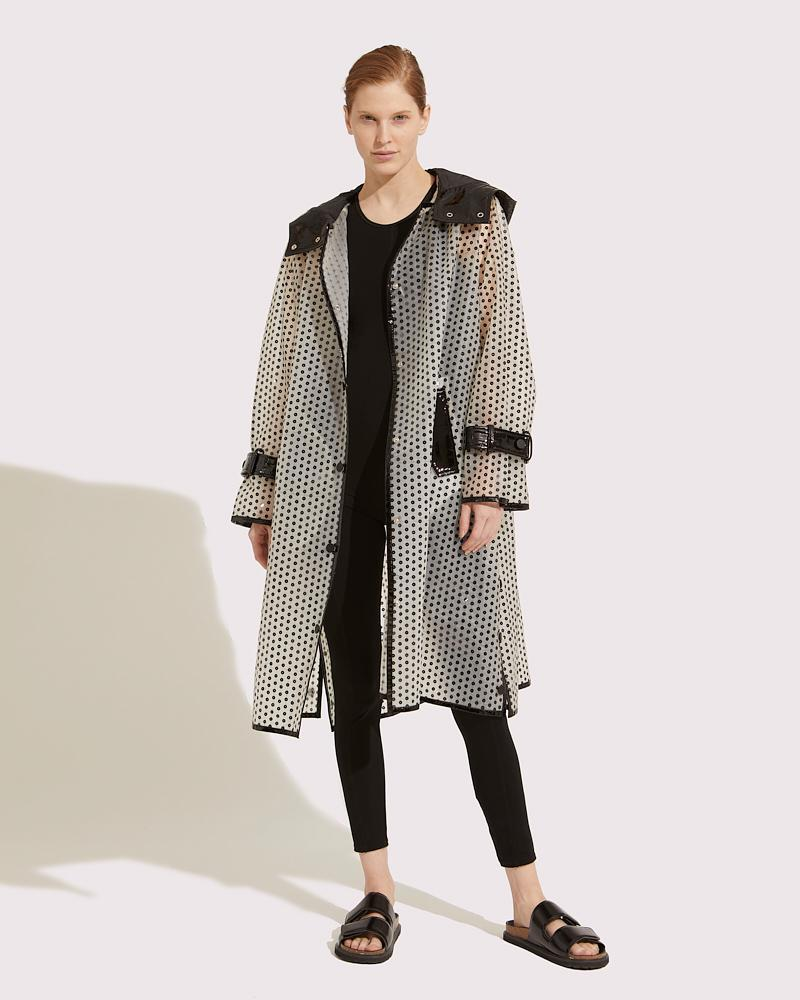 Long embroidered coat