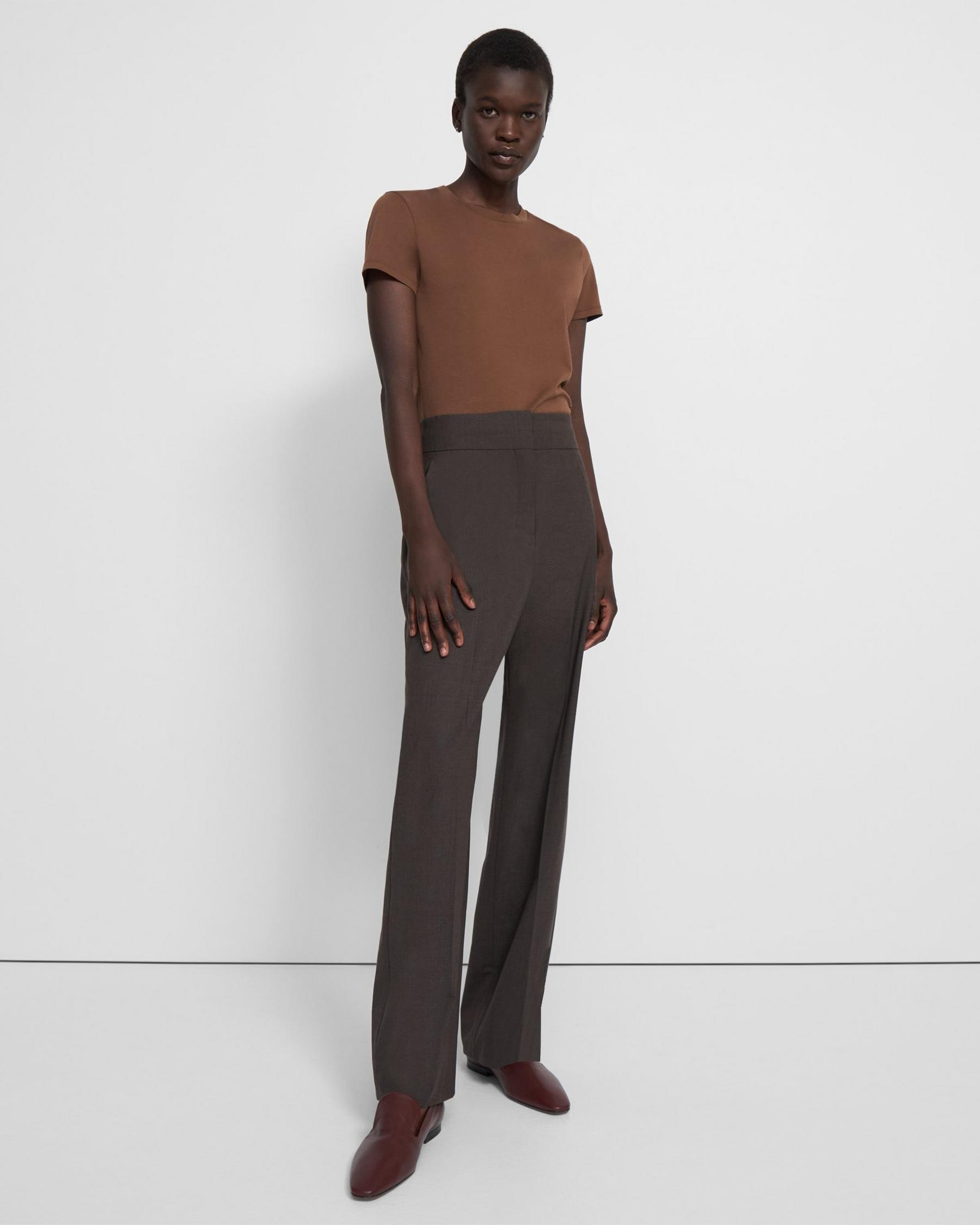 High-Waisted Pant in Good Wool